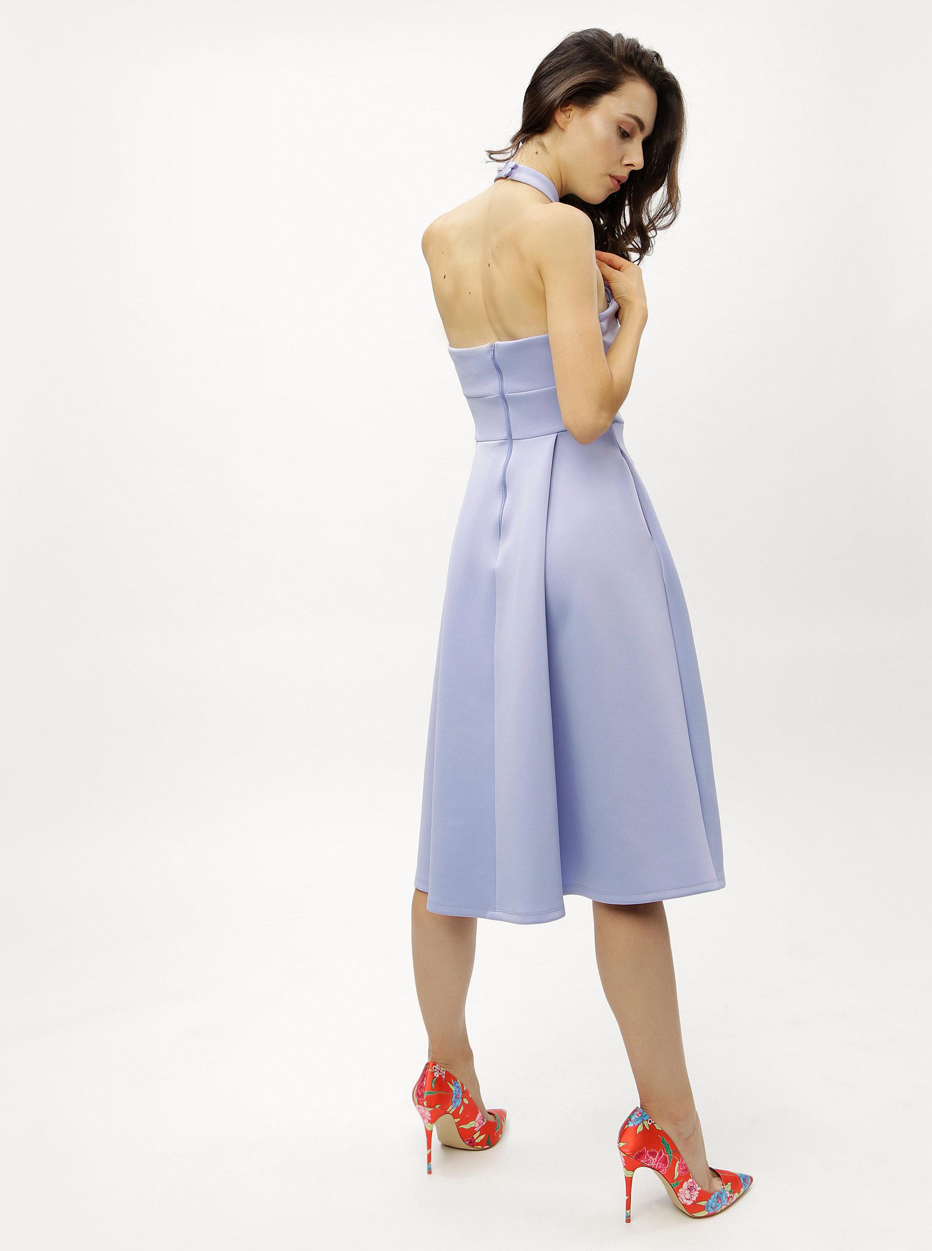a54d0a35385 Světle modré šaty Miss Selfridge ...
