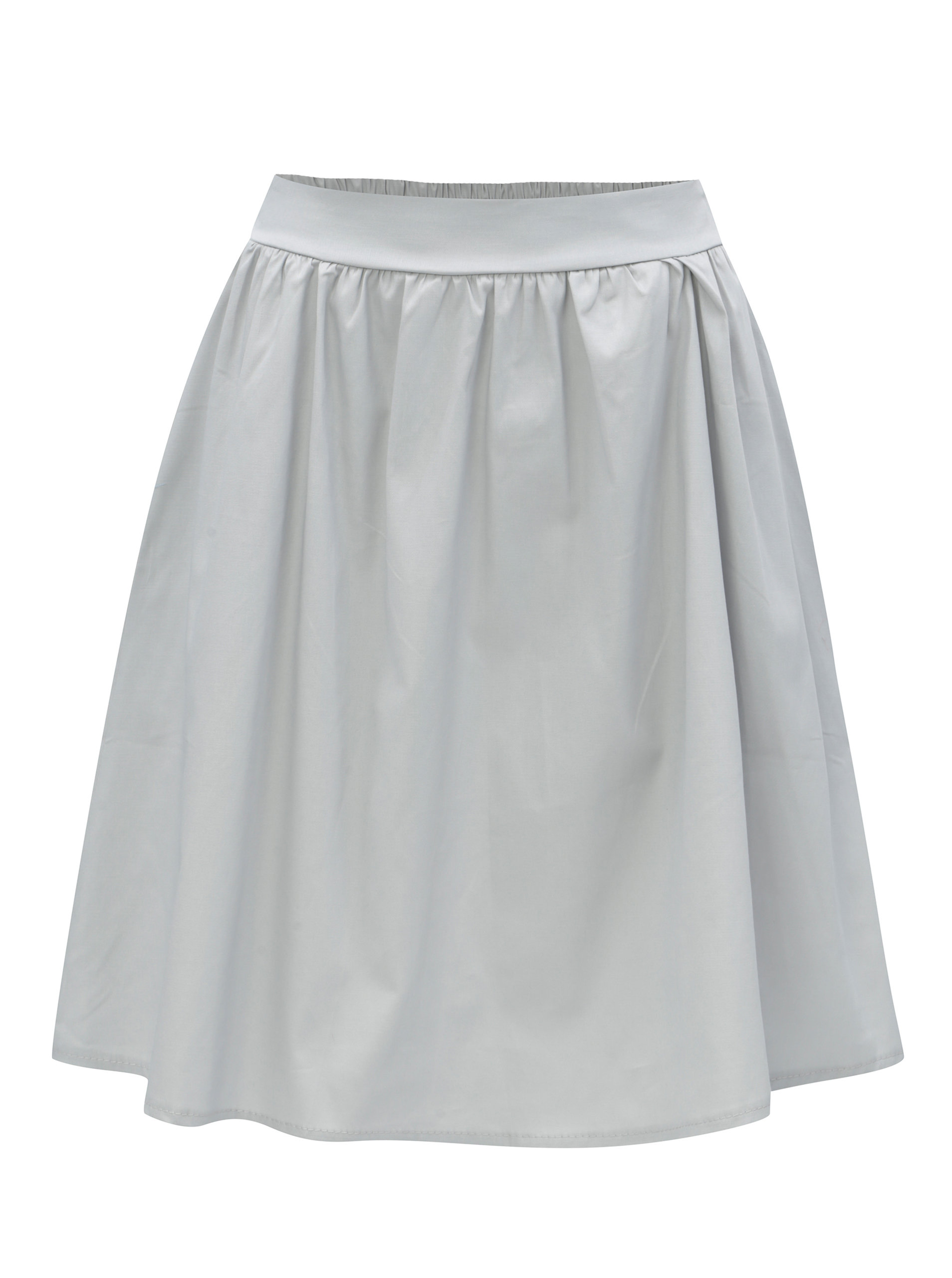 Světle šedá sukně s kapsami ZOOT ... 8688bdc1b5