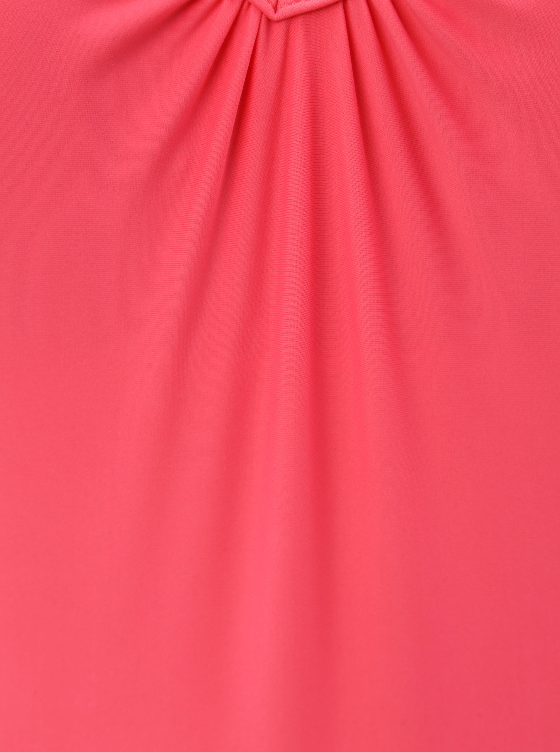 Růžové jednodílné plavky Pieces ... 60fc3caedf