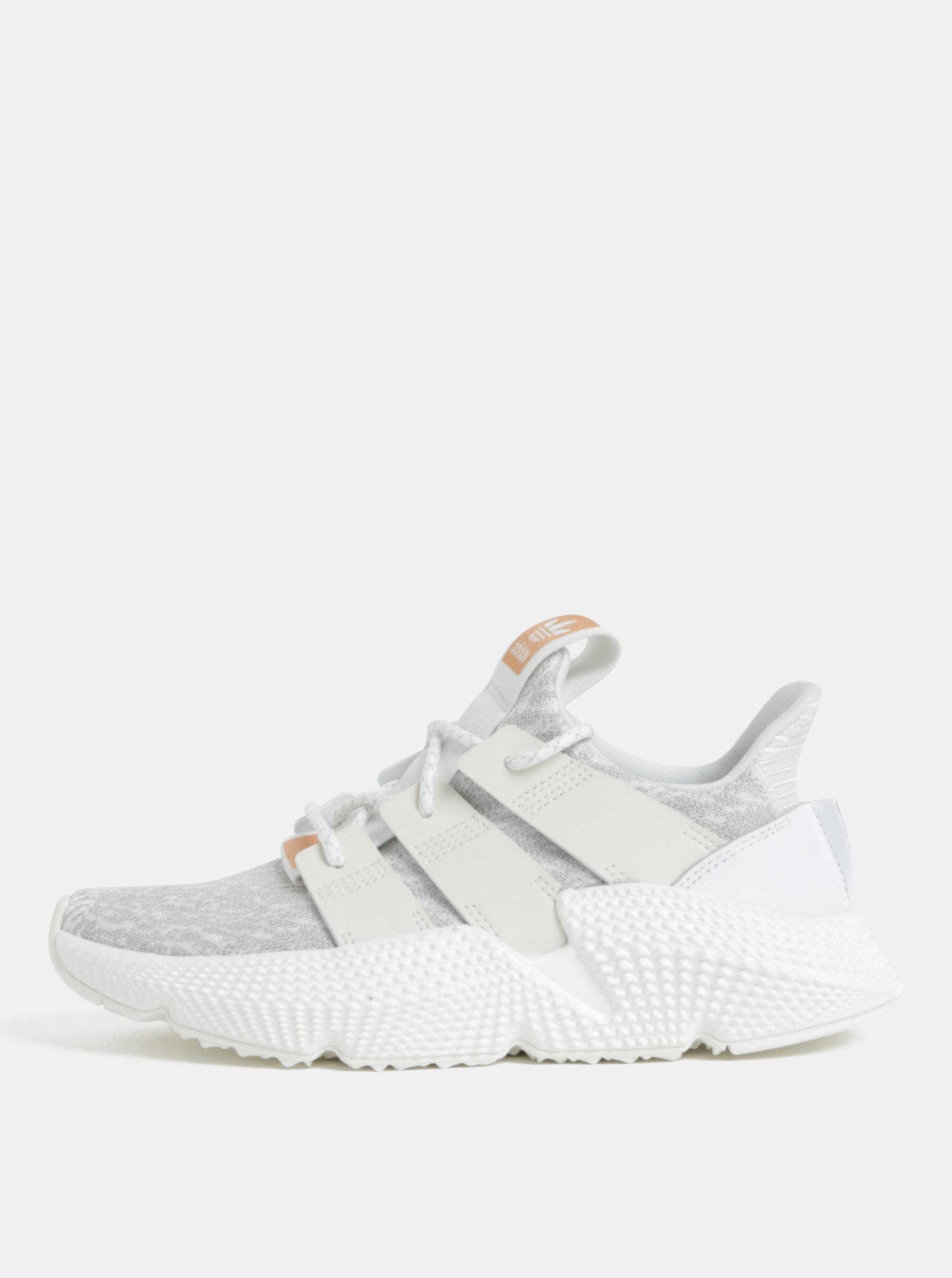 616be1f566a Šedo-bílé dámské tenisky adidas Originals PROPHERE ...