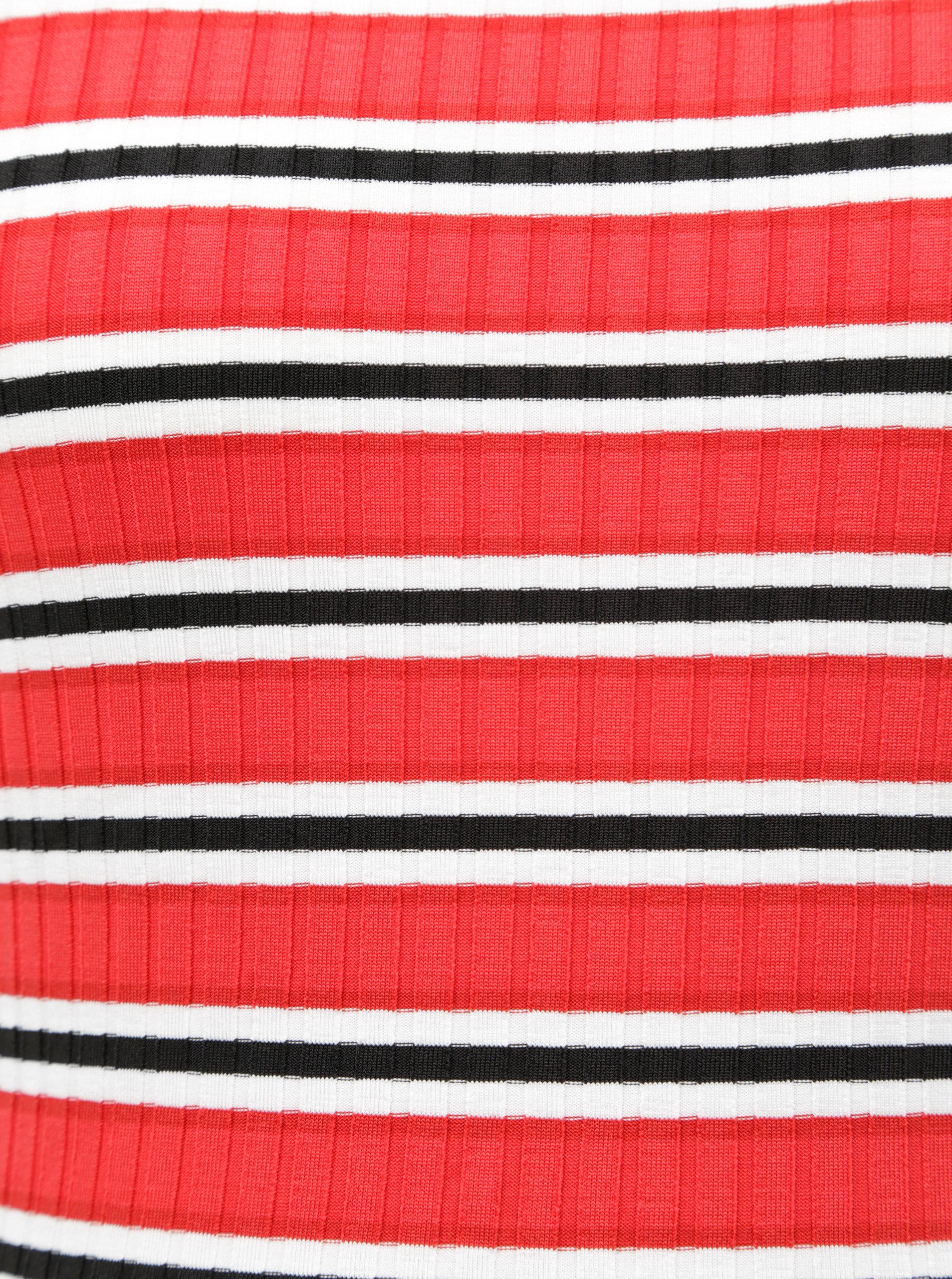 fc633edac717 Bielo–červené tehotenské pruhované tielko Dorothy Perkins Maternity ...