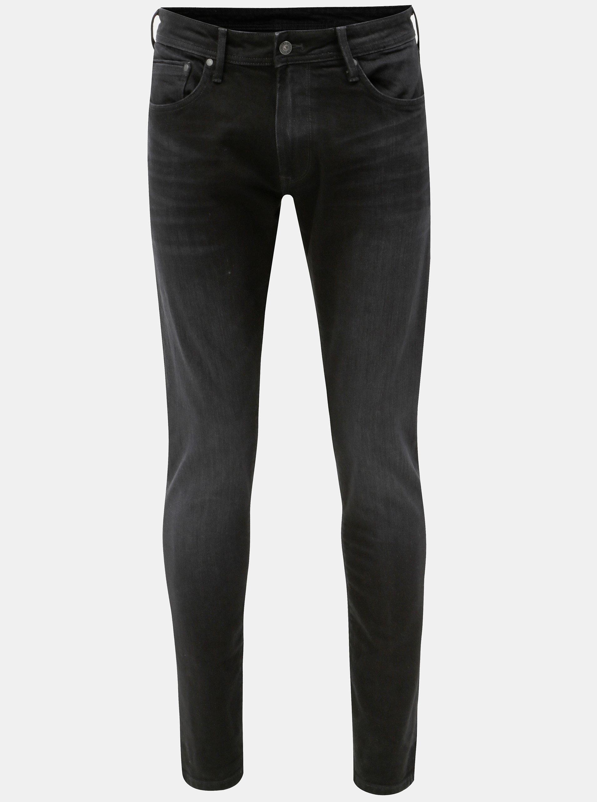 Černé pánské regular džíny Pepe Jeans