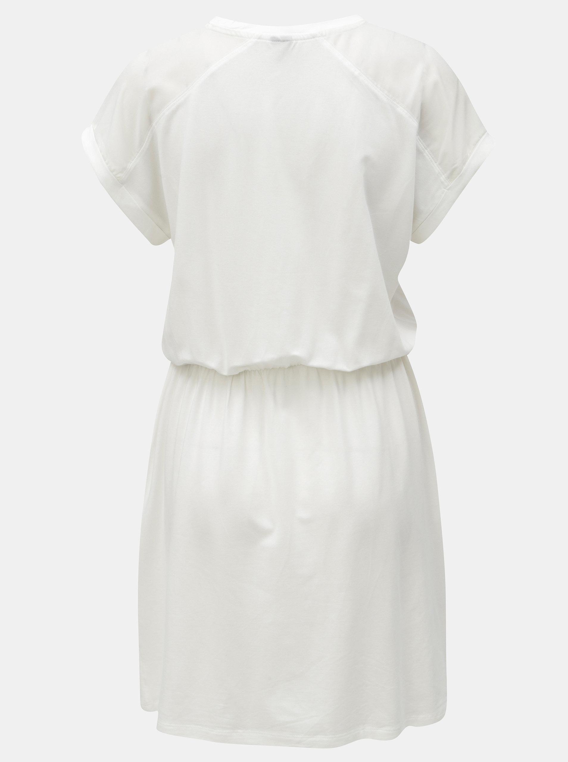 e6574c0e79d Bílé šaty s kapsami VERO MODA Ava ...