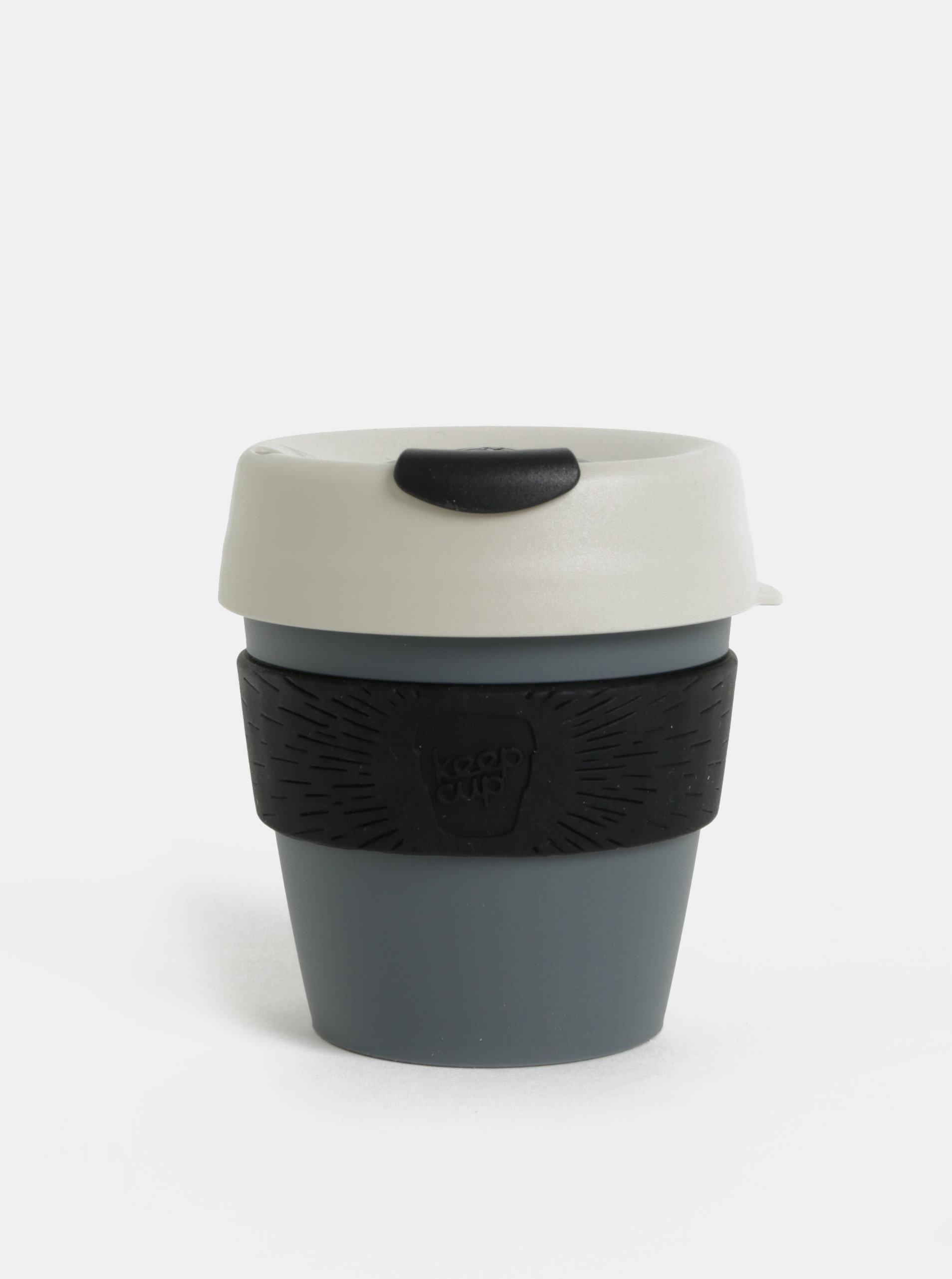 Čierno-sivý cestovný hrnček KeepCup Original Small ... af45dba050