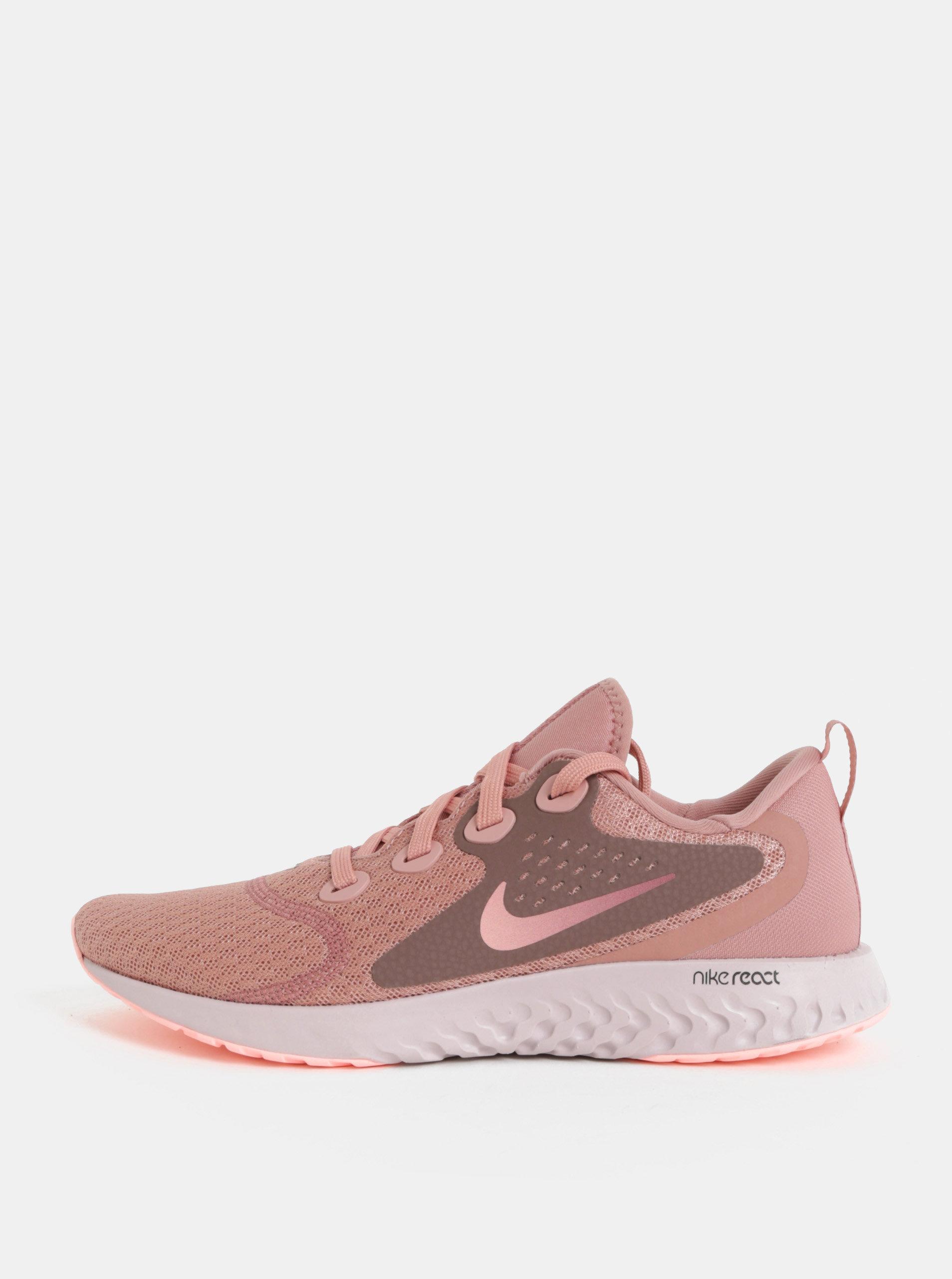 e17a71f51ebf Růžové dámské tenisky Nike Legend React ...