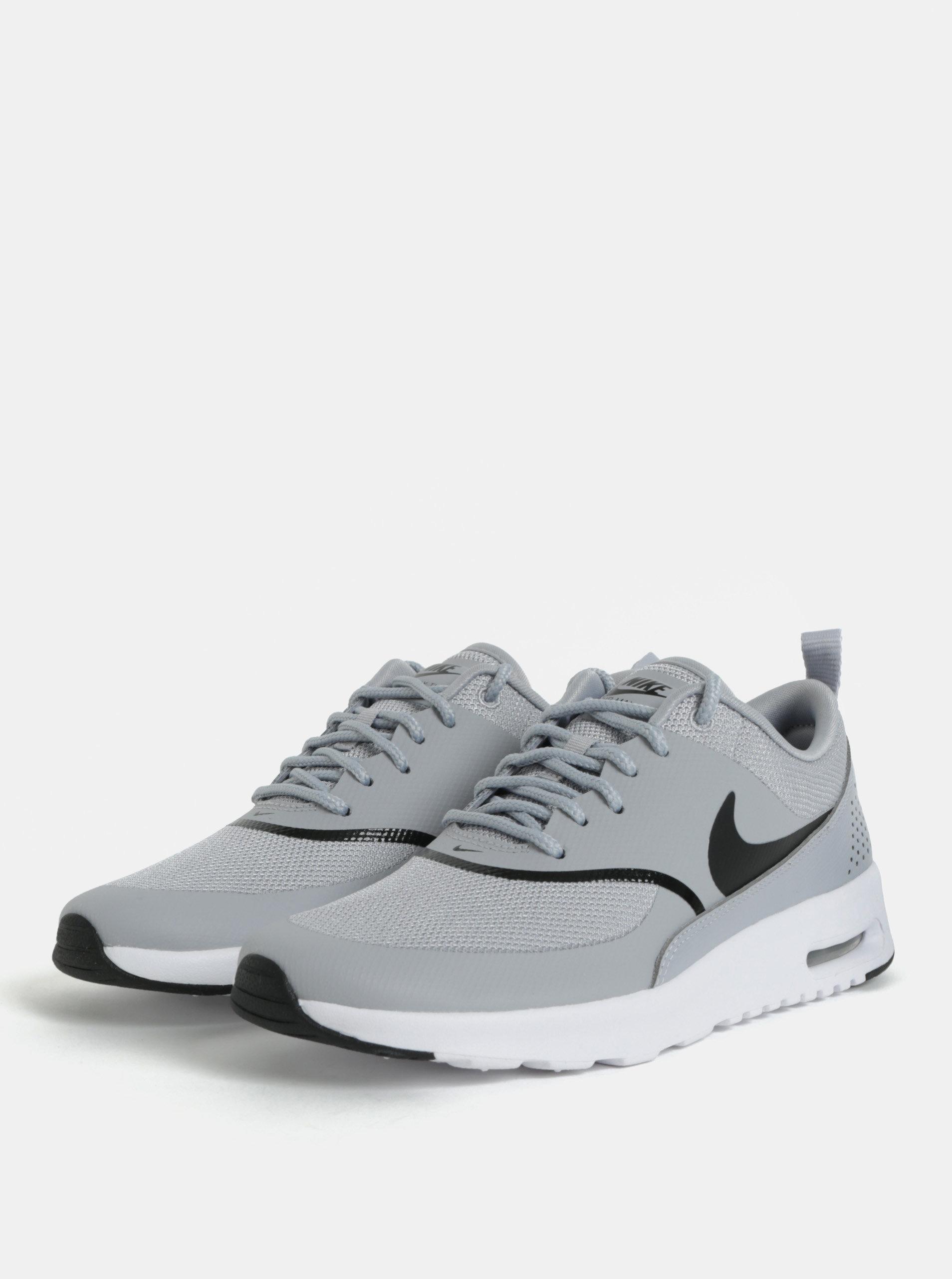 Sivé dámske tenisky Nike Air Max Thea ... fb4b2c89df9