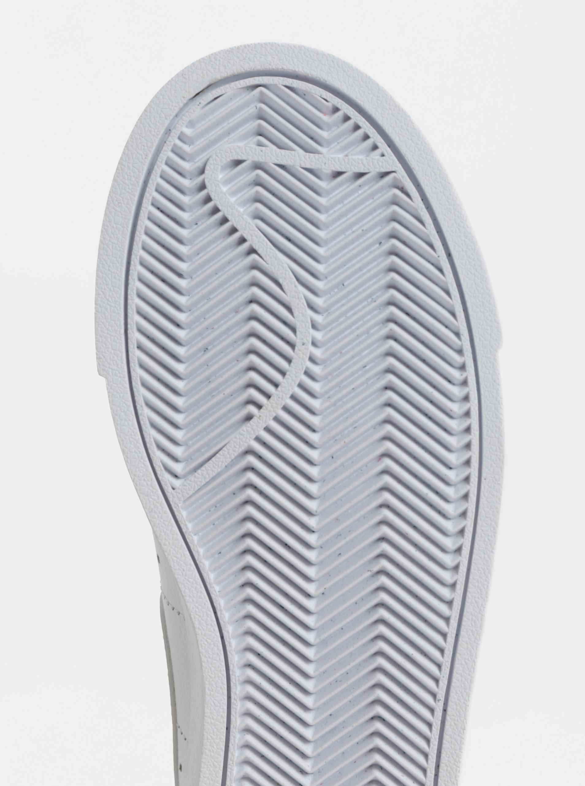 Biele dámske kožené tenisky Nike Blazer Low Leather ... 8757b430e5