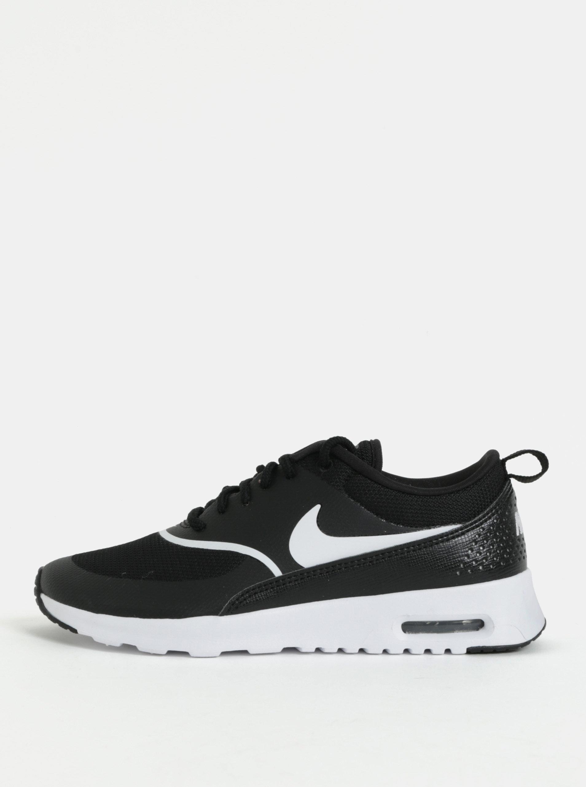 05cb33dd1f6c Čierne dámske tenisky Nike Air Max Thea ...