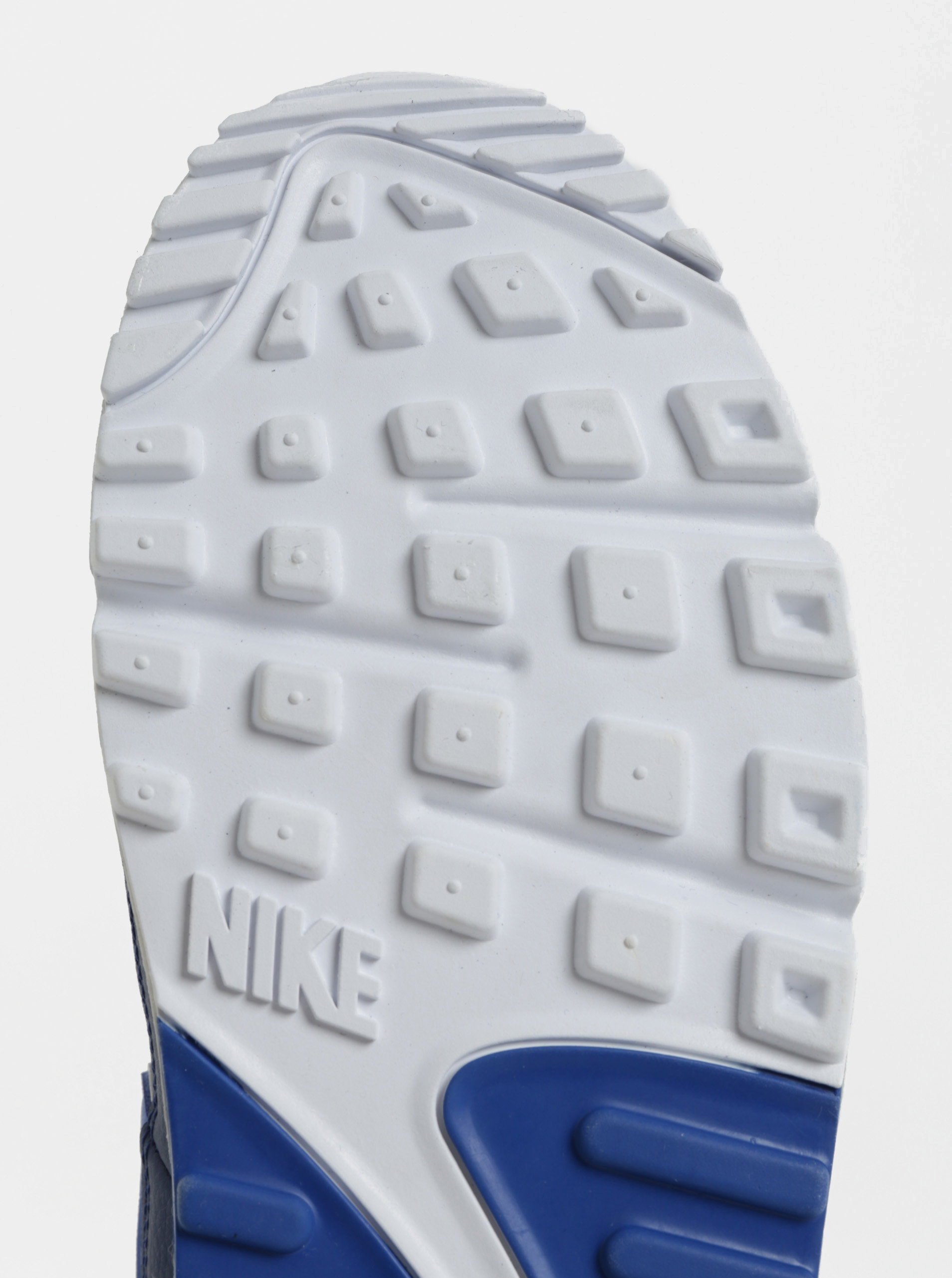 Modré pánske kožené tenisky Nike Air Max  90 Essential ... c976969ea22