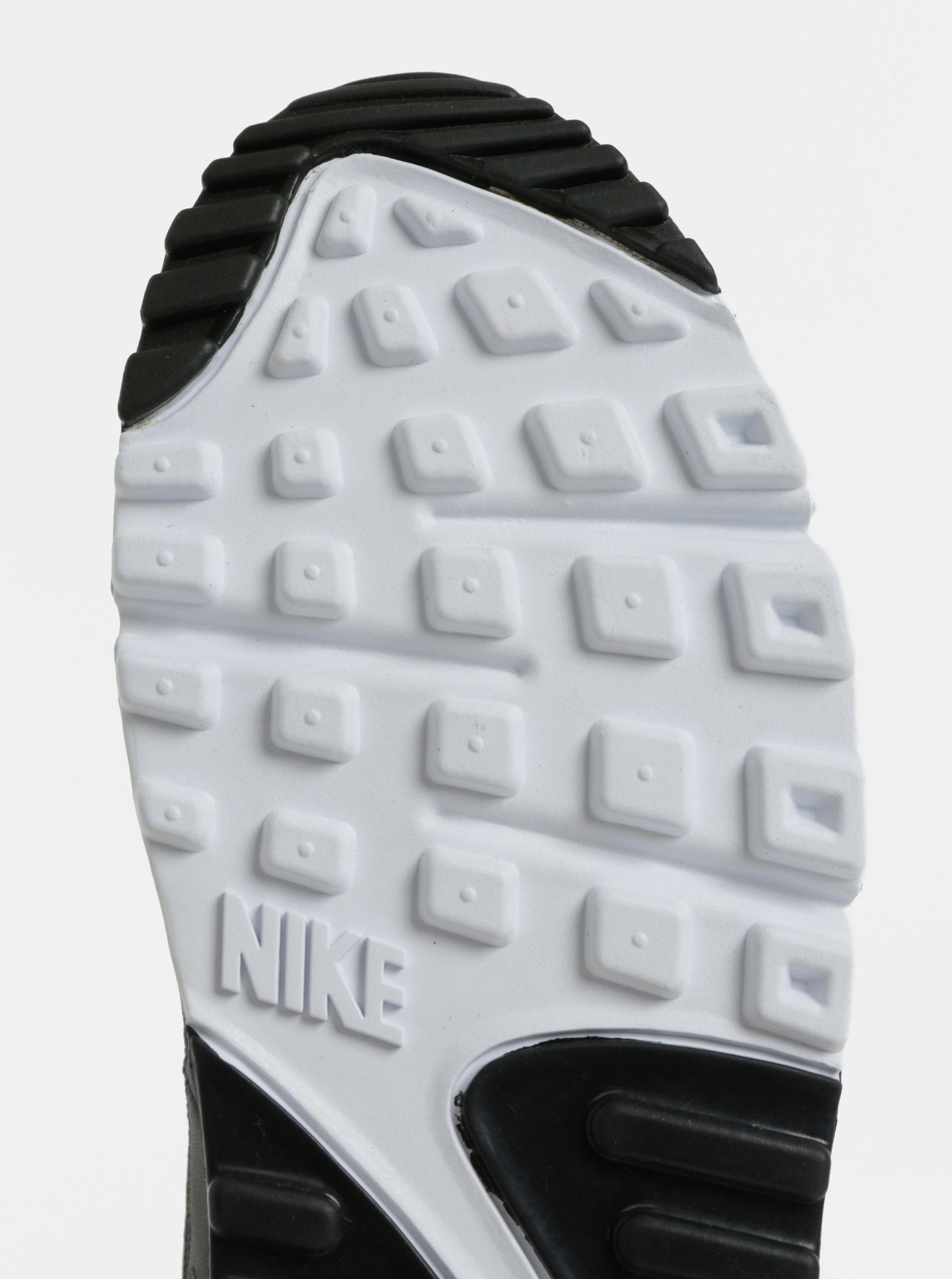 Kaki pánske kožené tenisky Nike Air Max  90 Essential ... f6711043986
