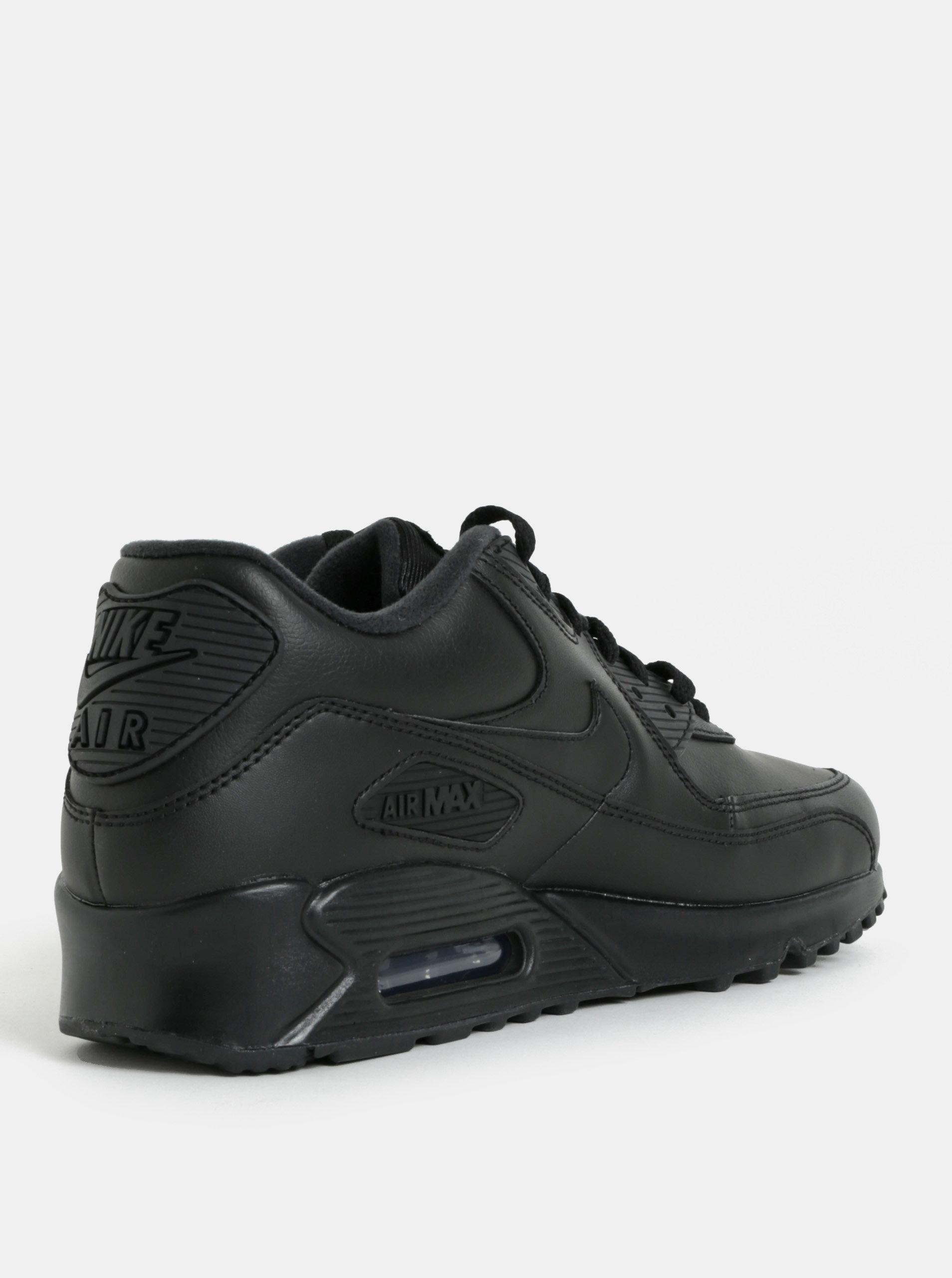 7e702f9033202 Čierne pánske kožené tenisky Nike Air Max '90 Leather   ZOOT.sk