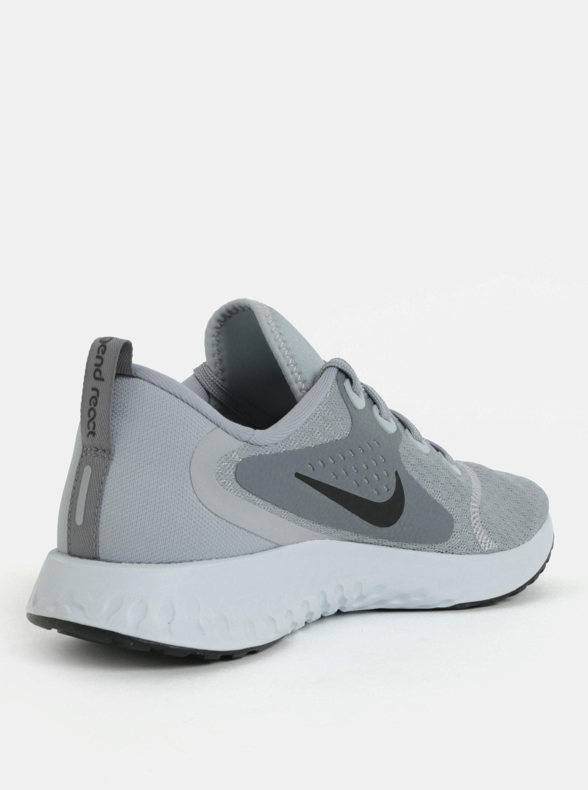 4d83212bcabc Šedé dámské tenisky Nike Legend React ...