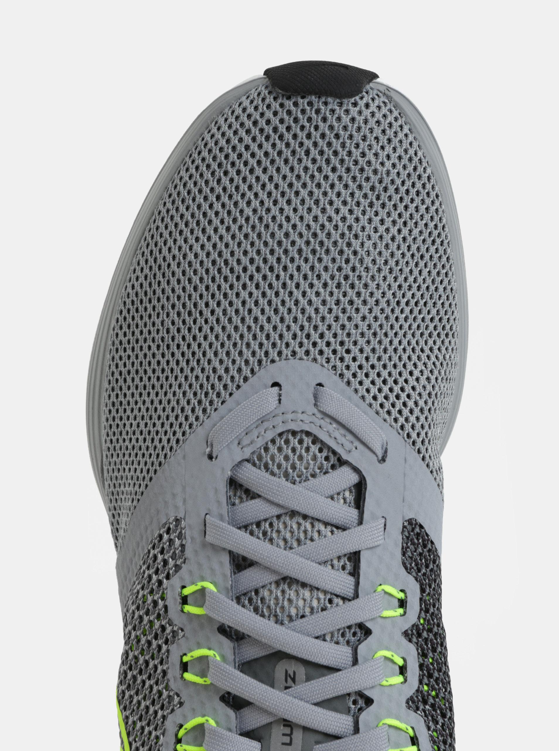 6ec15f926 Šedé pánské tenisky Nike Zoom Strike Running | ZOOT.cz