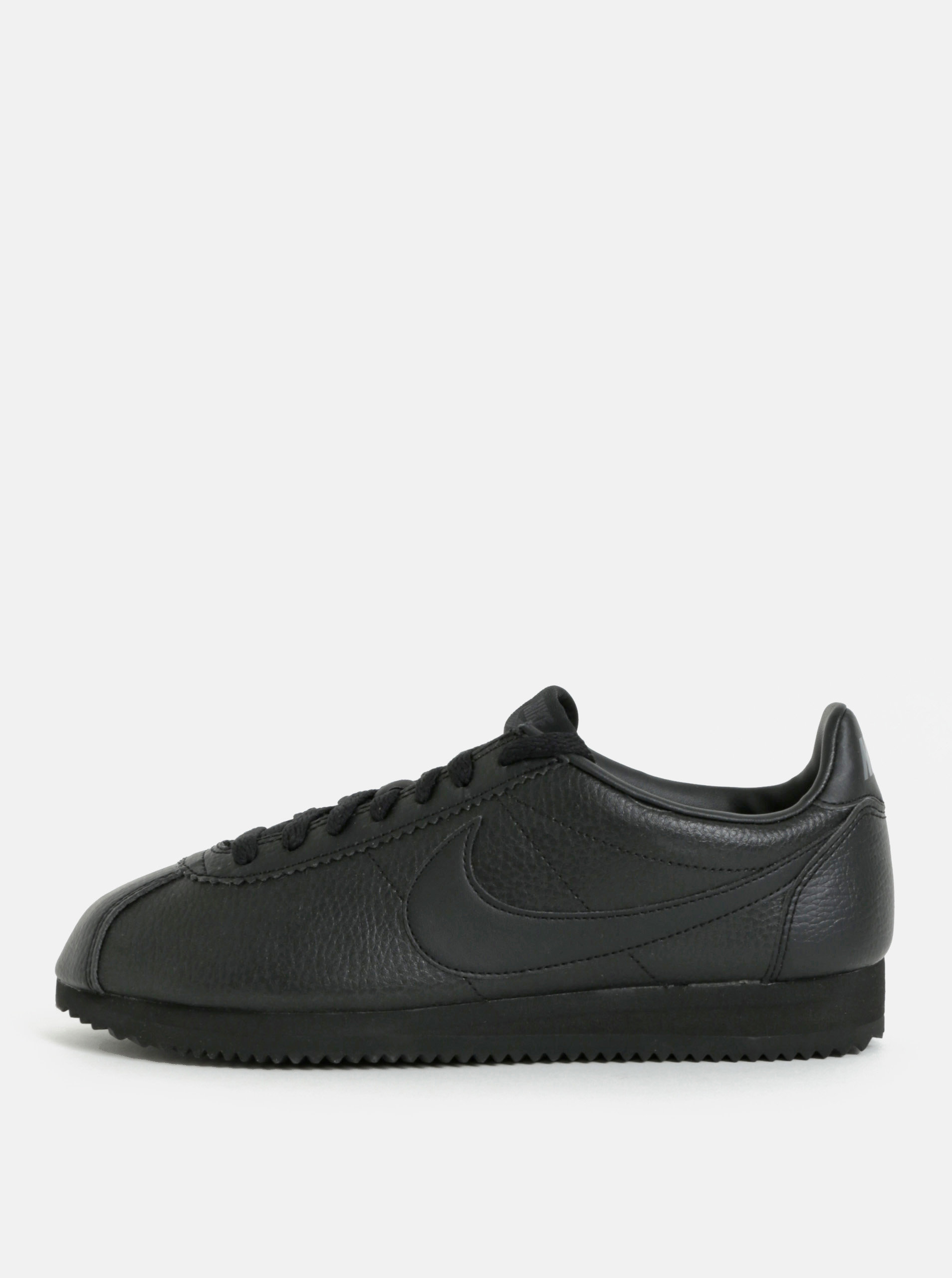 Čierne pánske kožené tenisky Nike Classic Leather ... ea9055d8b6c