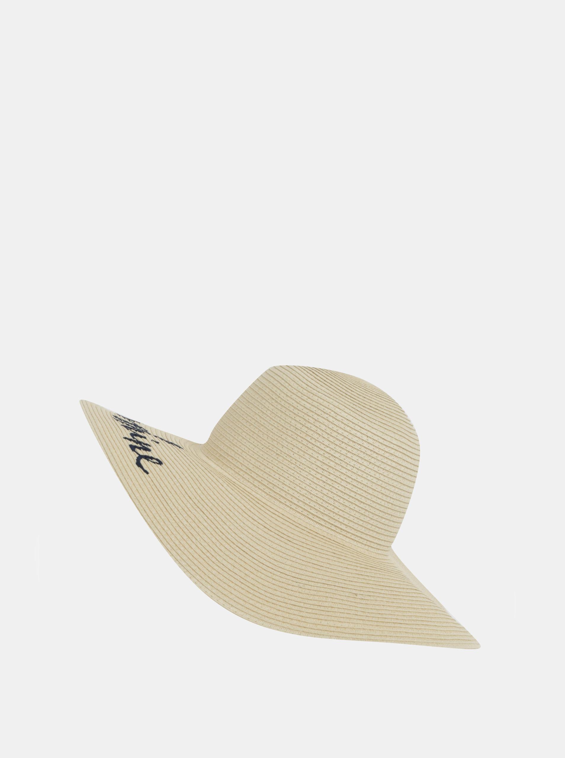 5ffcfd8a8df Béžový dámský klobouk s výšivkou Tom Joule ...