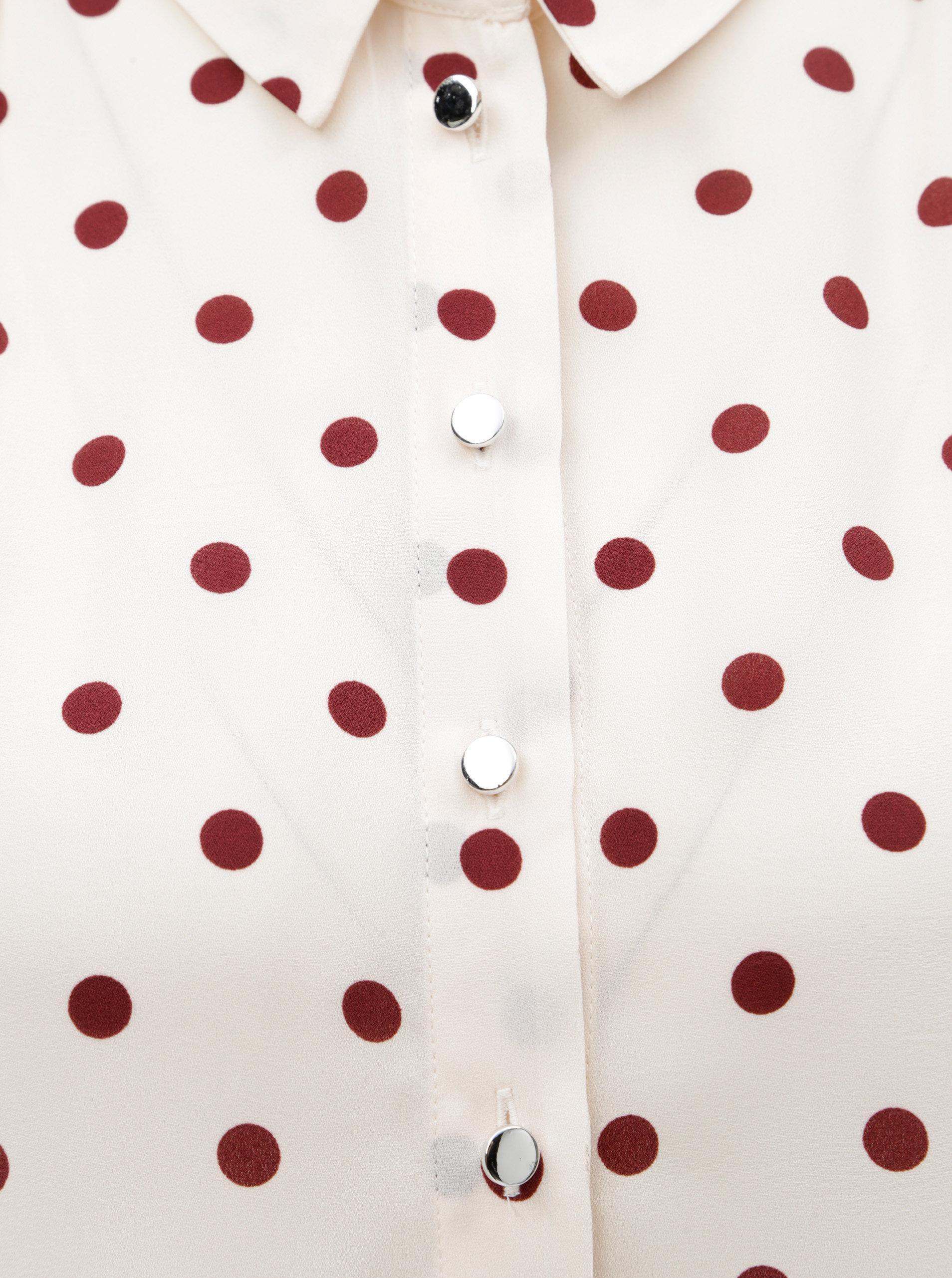 3035b1c88846 Svetloružová košeľa s bodkami Dorothy Perkins Petite ...
