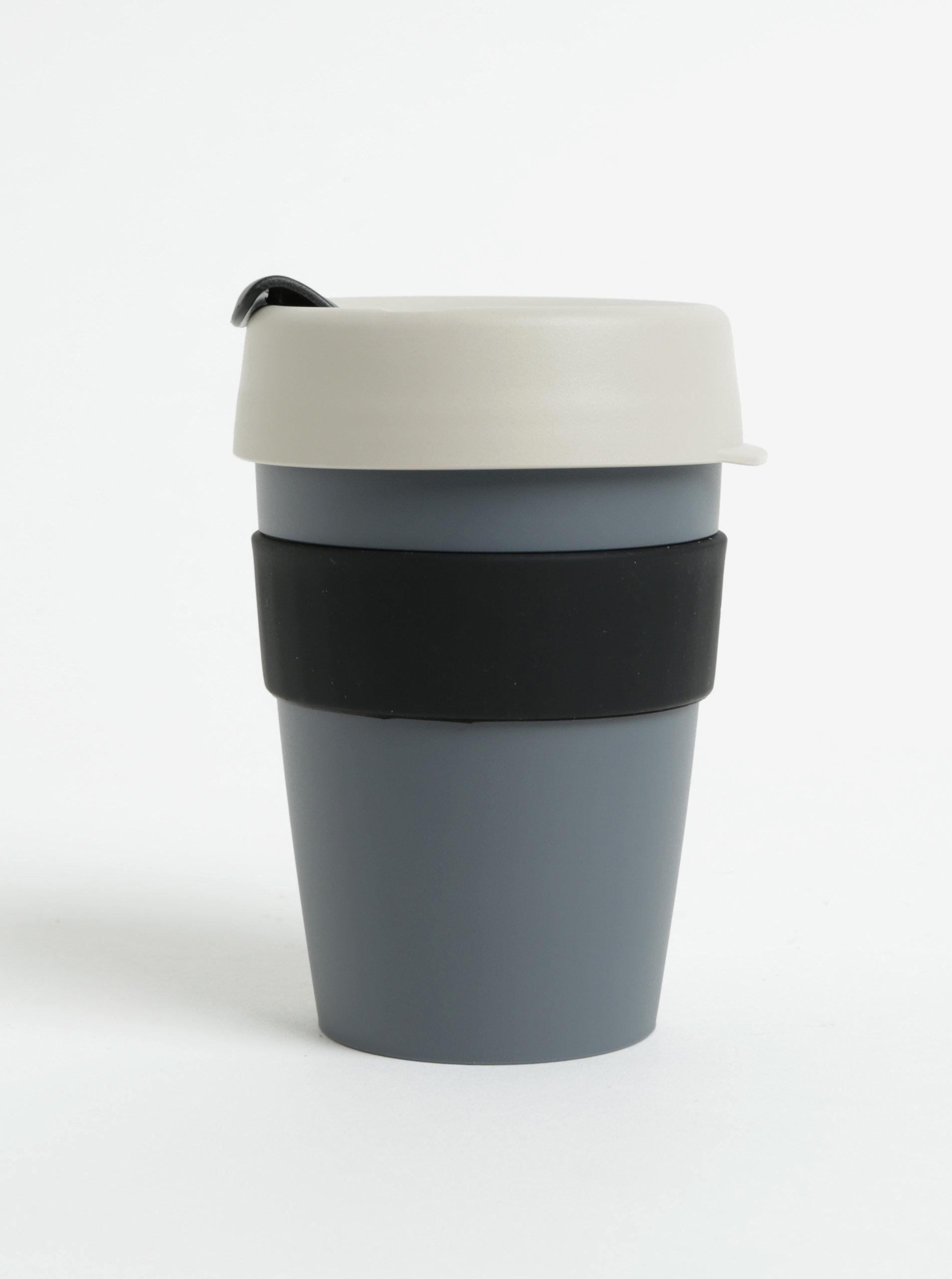 Tmavě šedý cestovní hrnek KeepCup Original Medium