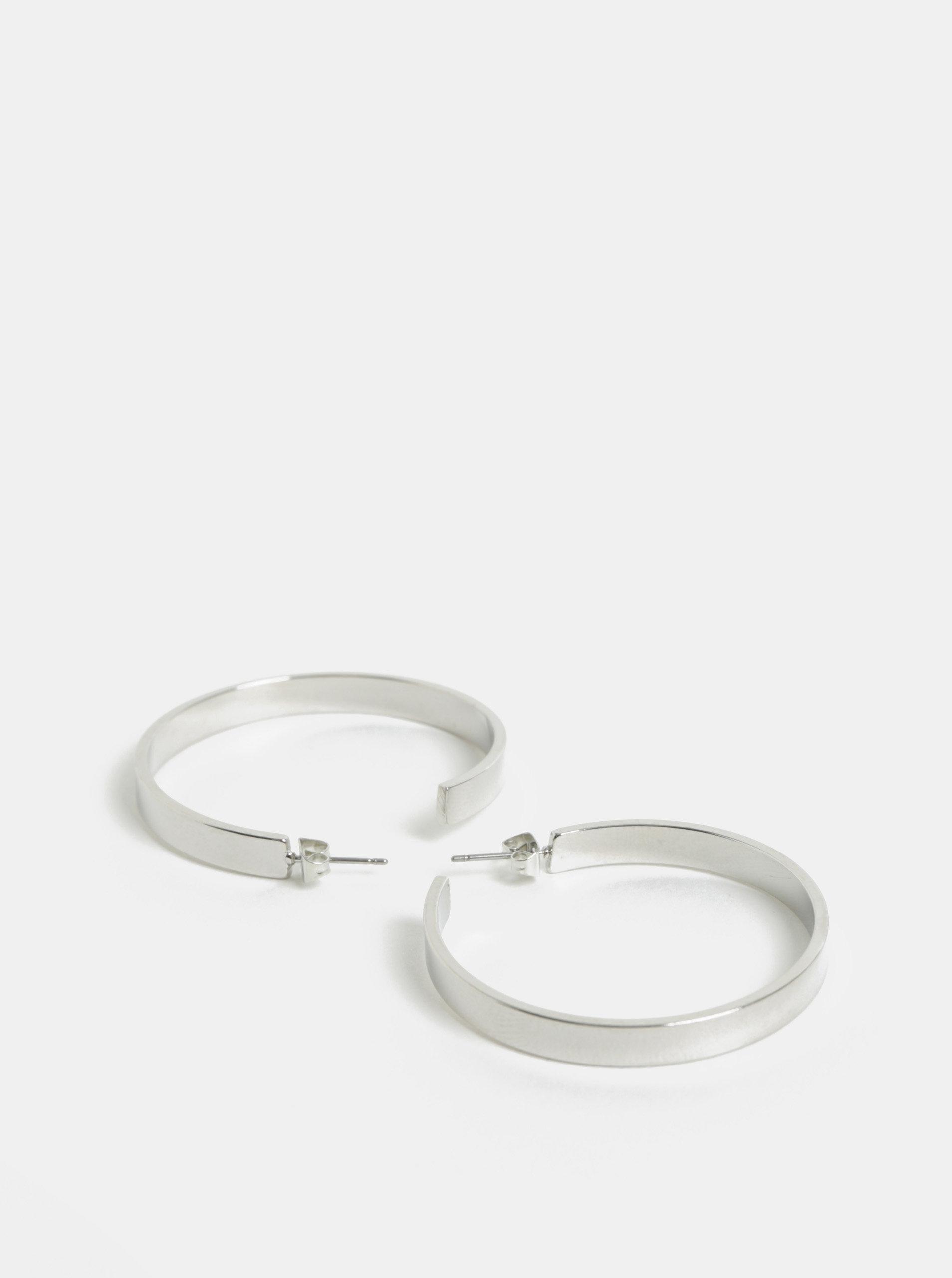5d9787a80 Kruhové náušnice ve stříbrné barvě Pieces Jodi | ZOOT.cz
