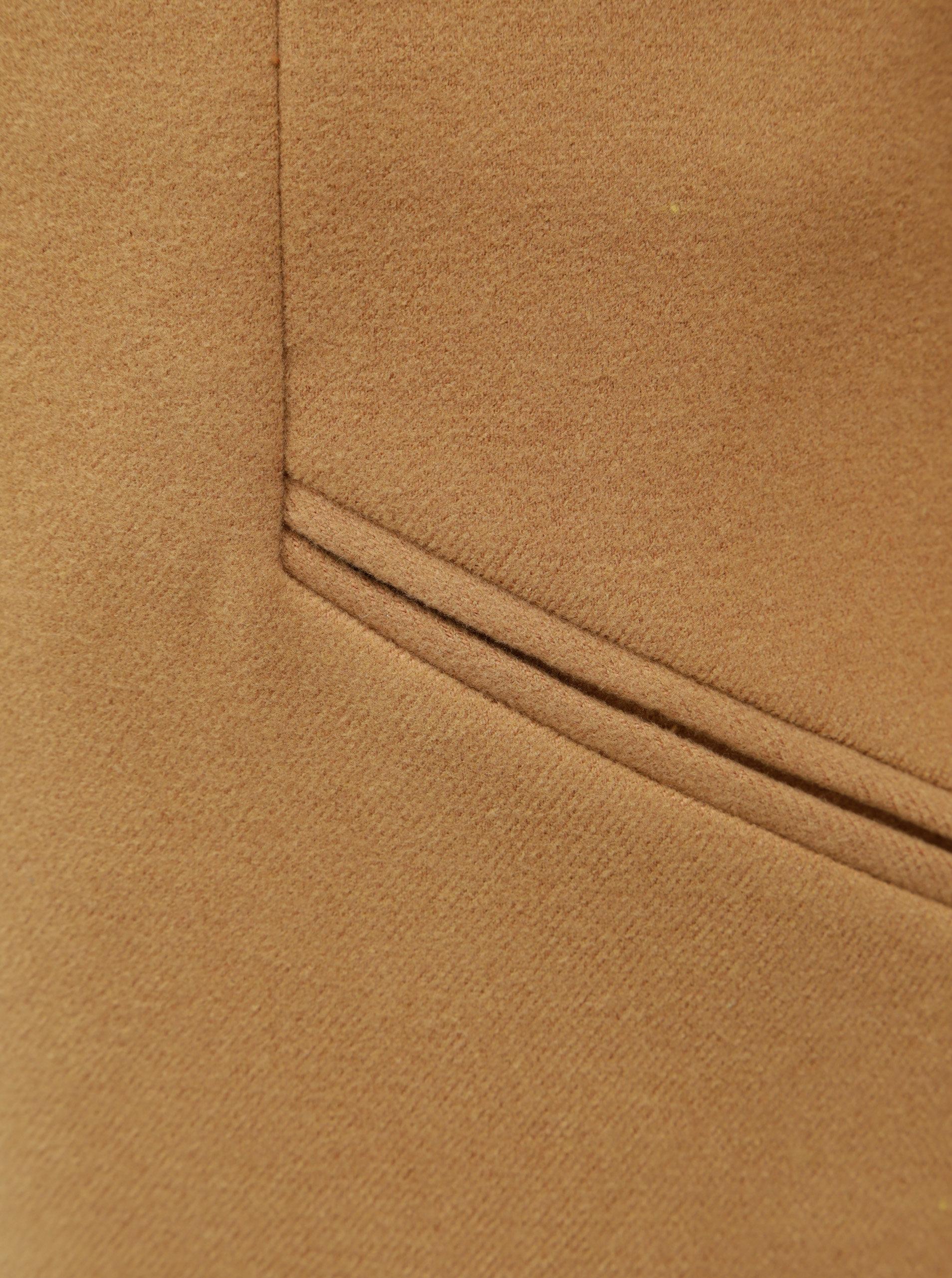 c7d81c63fa2 Hnědý kabát s kapsami VERO MODA ...