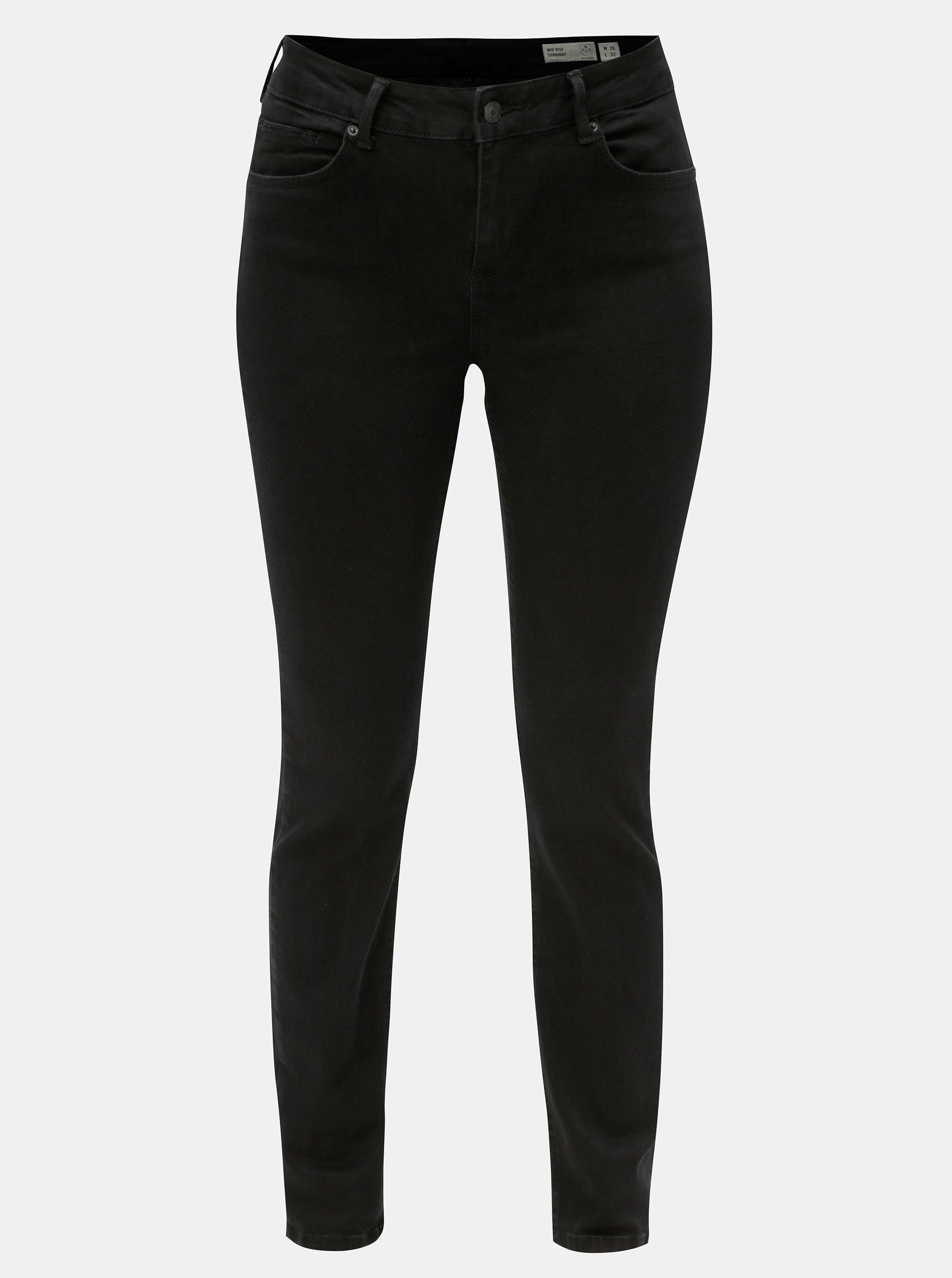 Černé straight džíny VERO MODA