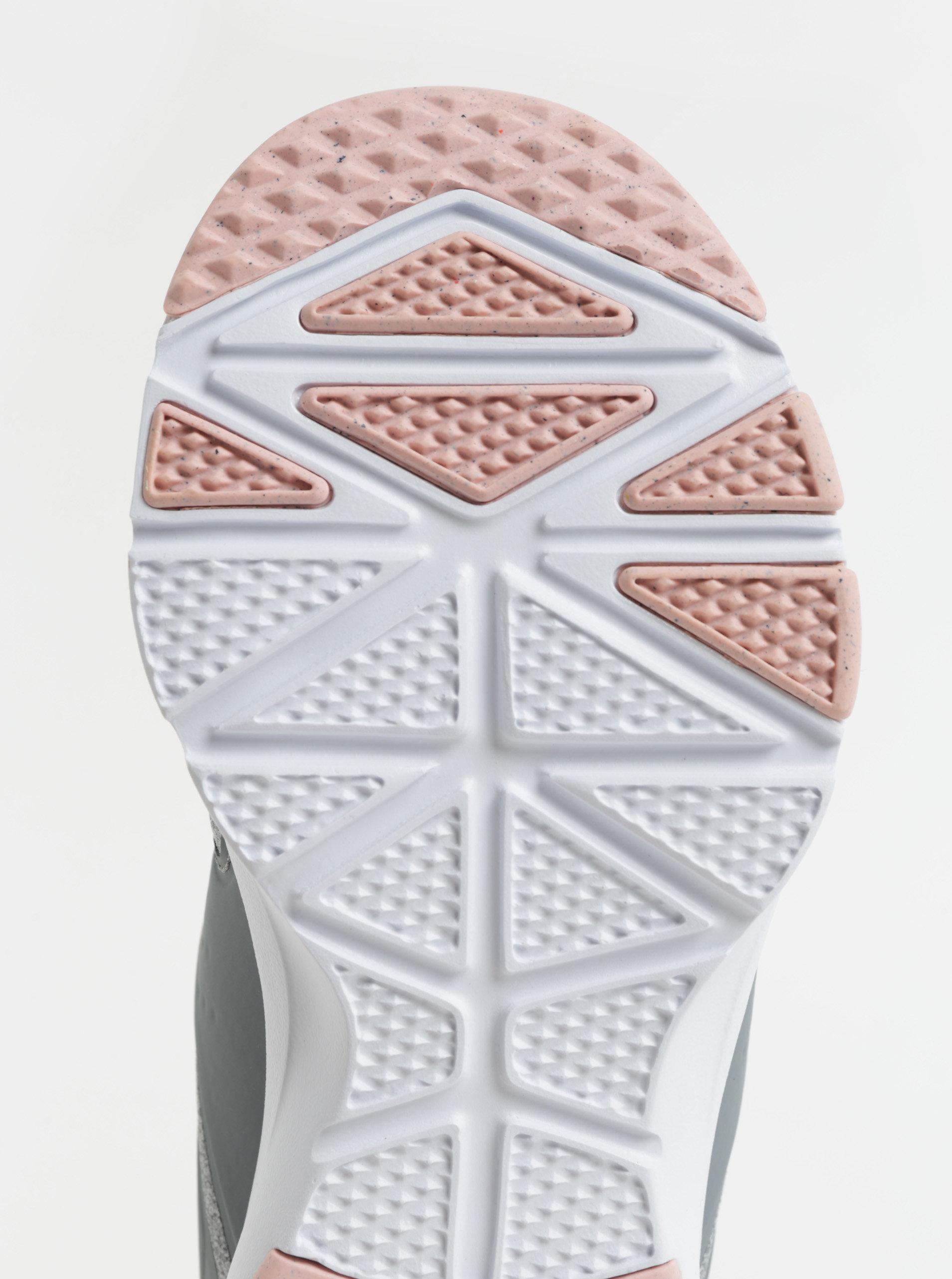 Sivé dámske melírované tenisky Nike Air Bella Training ff997fe4b3c