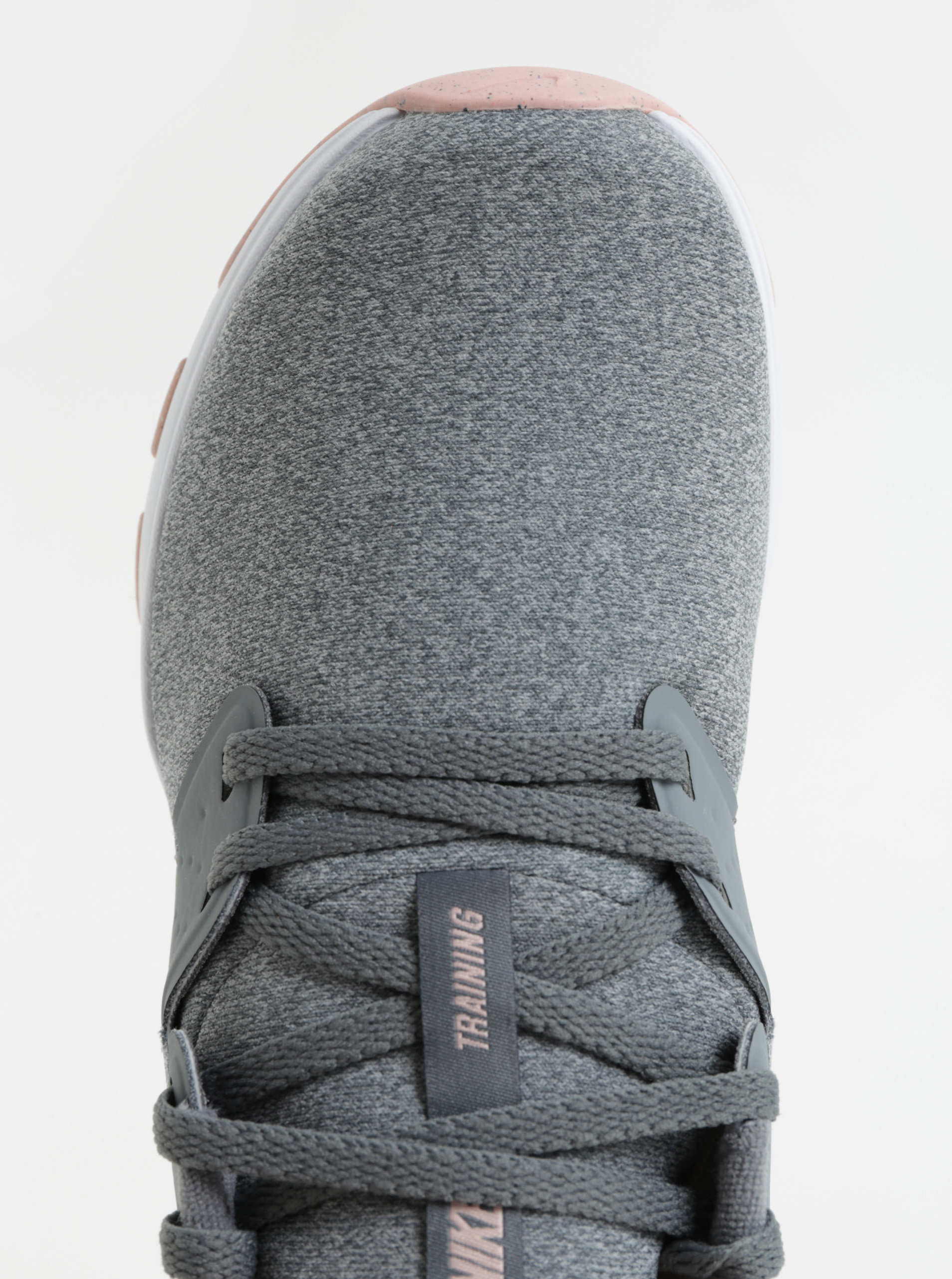 Sivé dámske melírované tenisky Nike Air Bella Training ... 0b9dd91591d