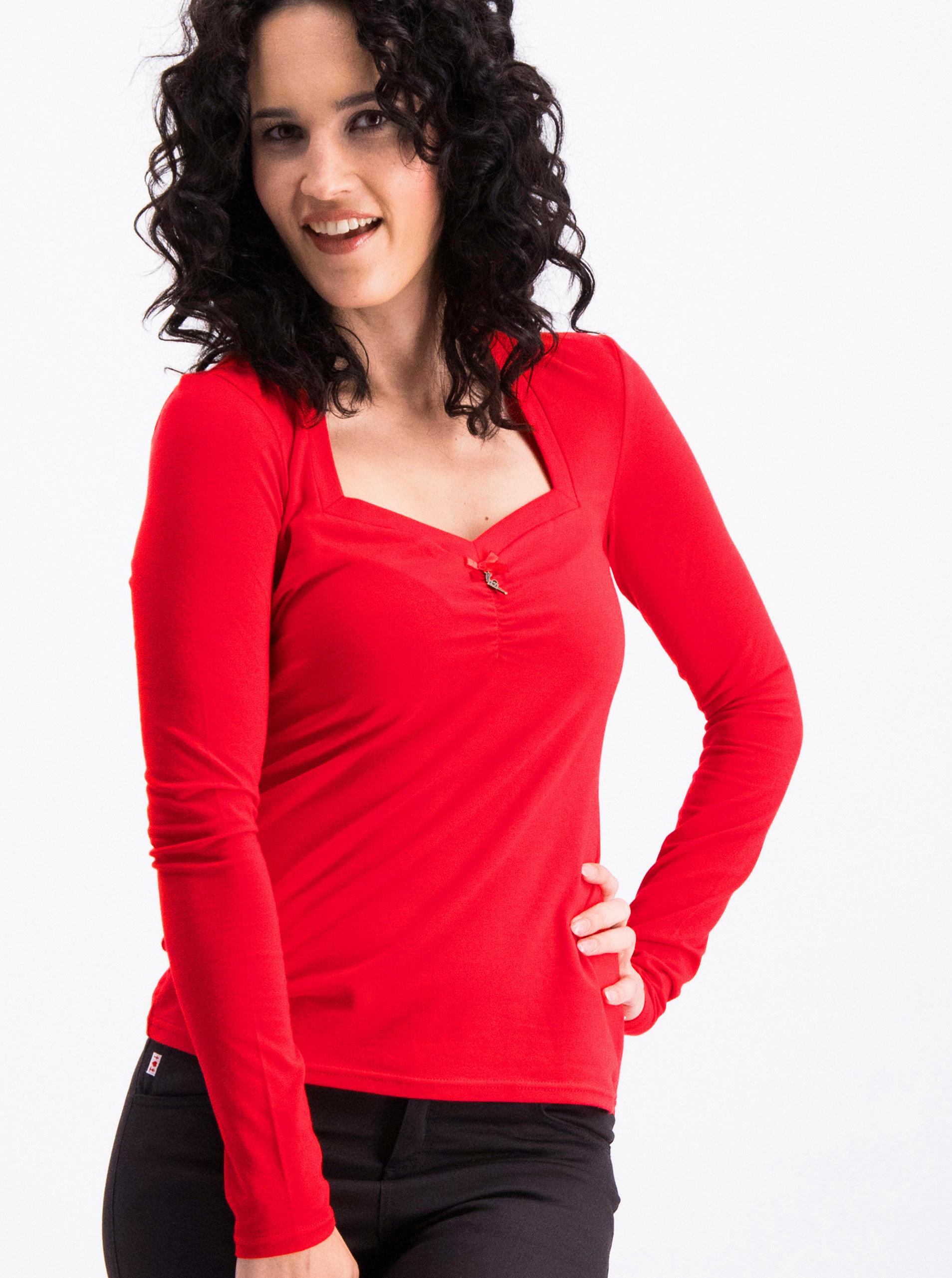d7400693722 Šedo-růžové pruhované šaty s dlouhým rukávem Blutsgeschwister ...