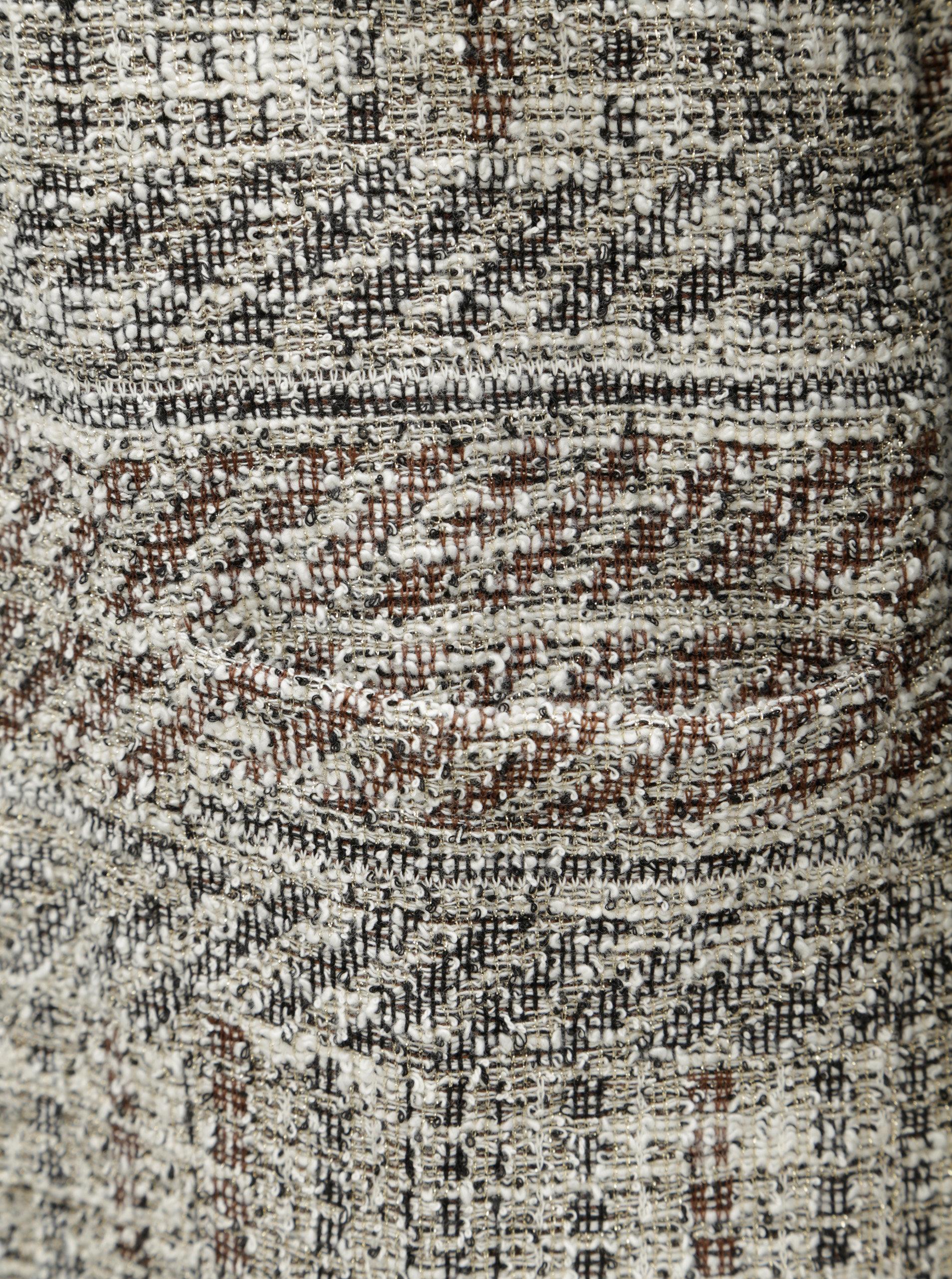 0194a280380 Béžový kardigan s všitým tričkem Desigual Iliana ...