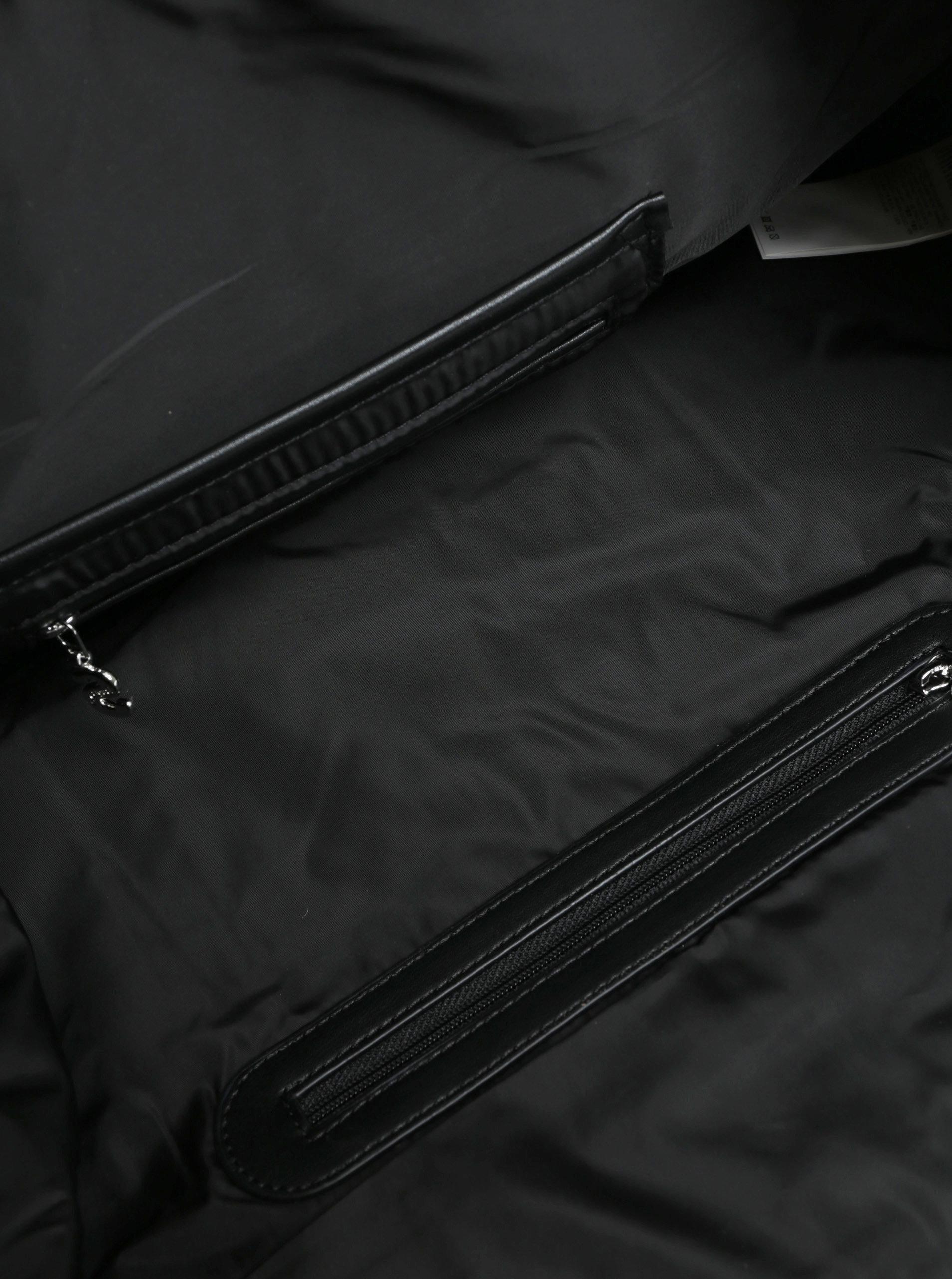 2eacadb9a4 Černá prošívaná kabelka Desigual Philadelphia ...