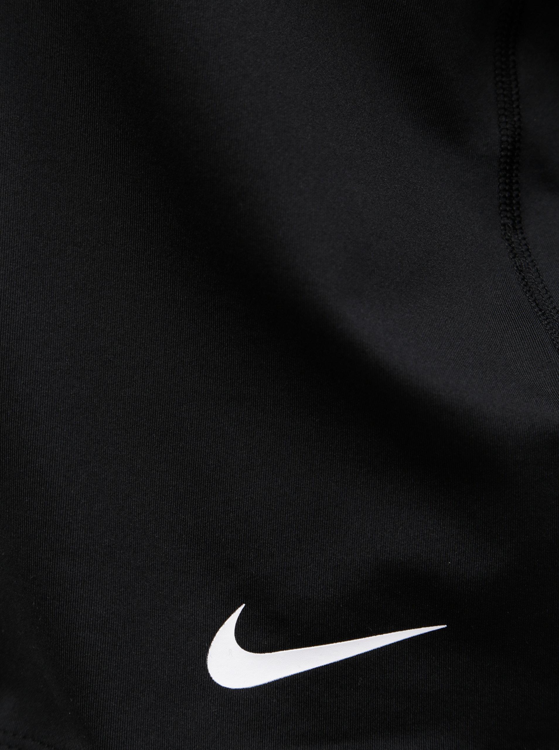 c2a95c0d3211 Čierne dámske krátke funkčné tielko Nike Pro Intertwist ...