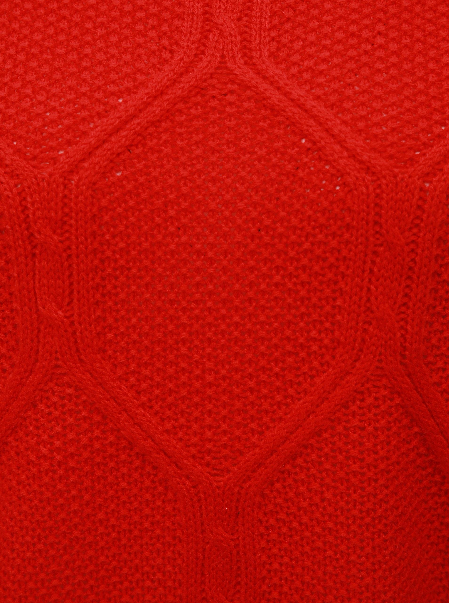 d39d86757d49 Červený sveter ONLY Felina ...