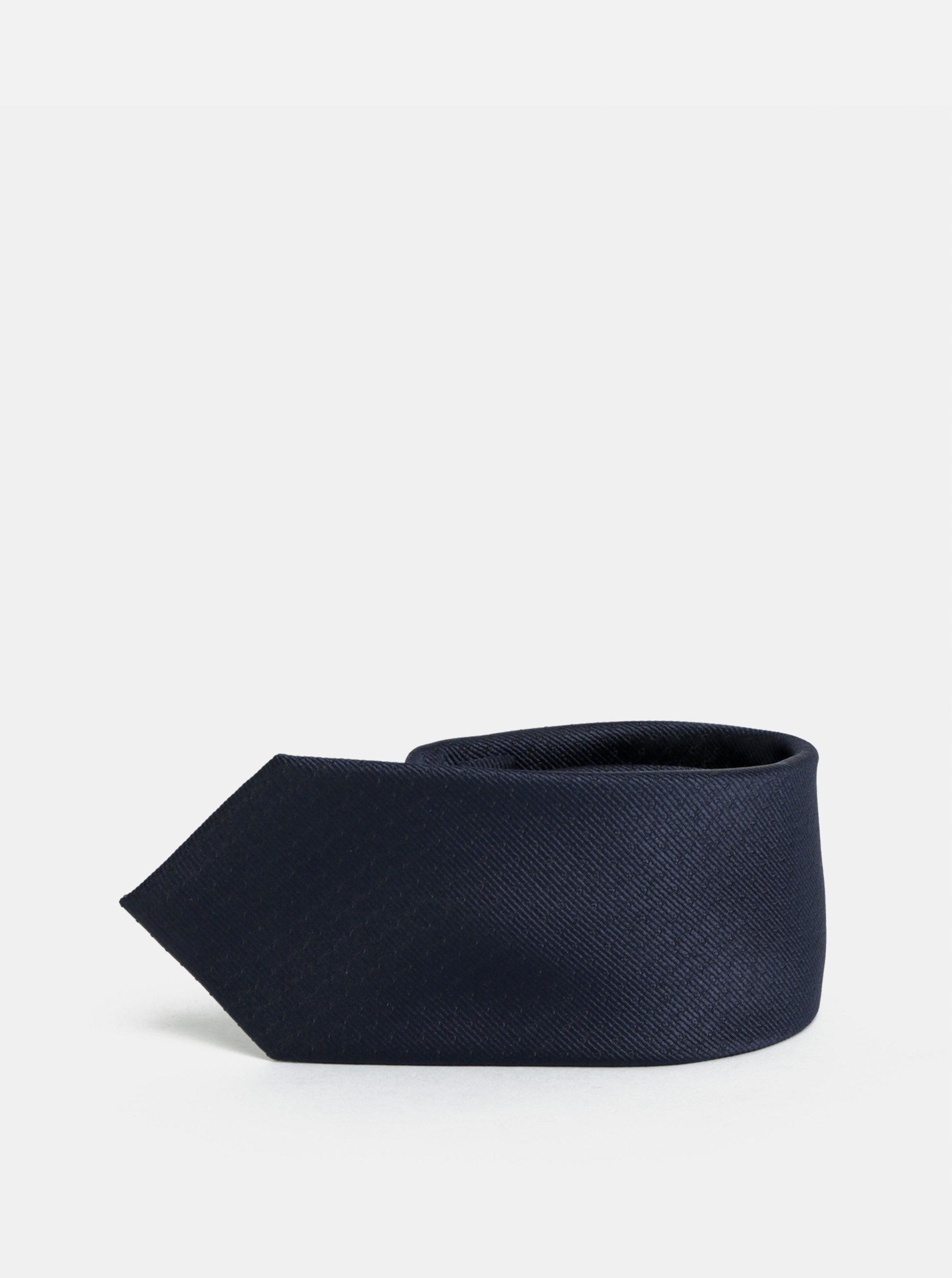 Tmavě modrá slim kravata Selected Homme Valdemar