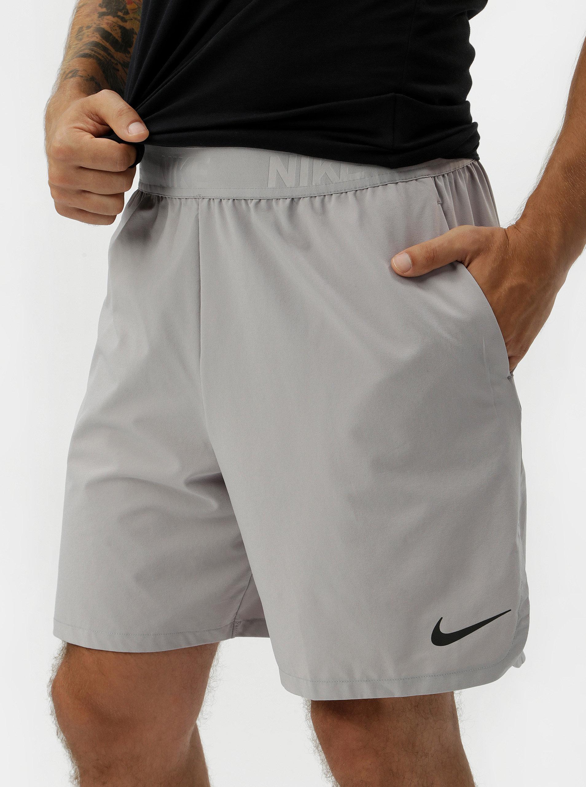 Šedé pánské standart fit kraťasy Nike Vent Max 2.0 ... 5aa55ab7bd