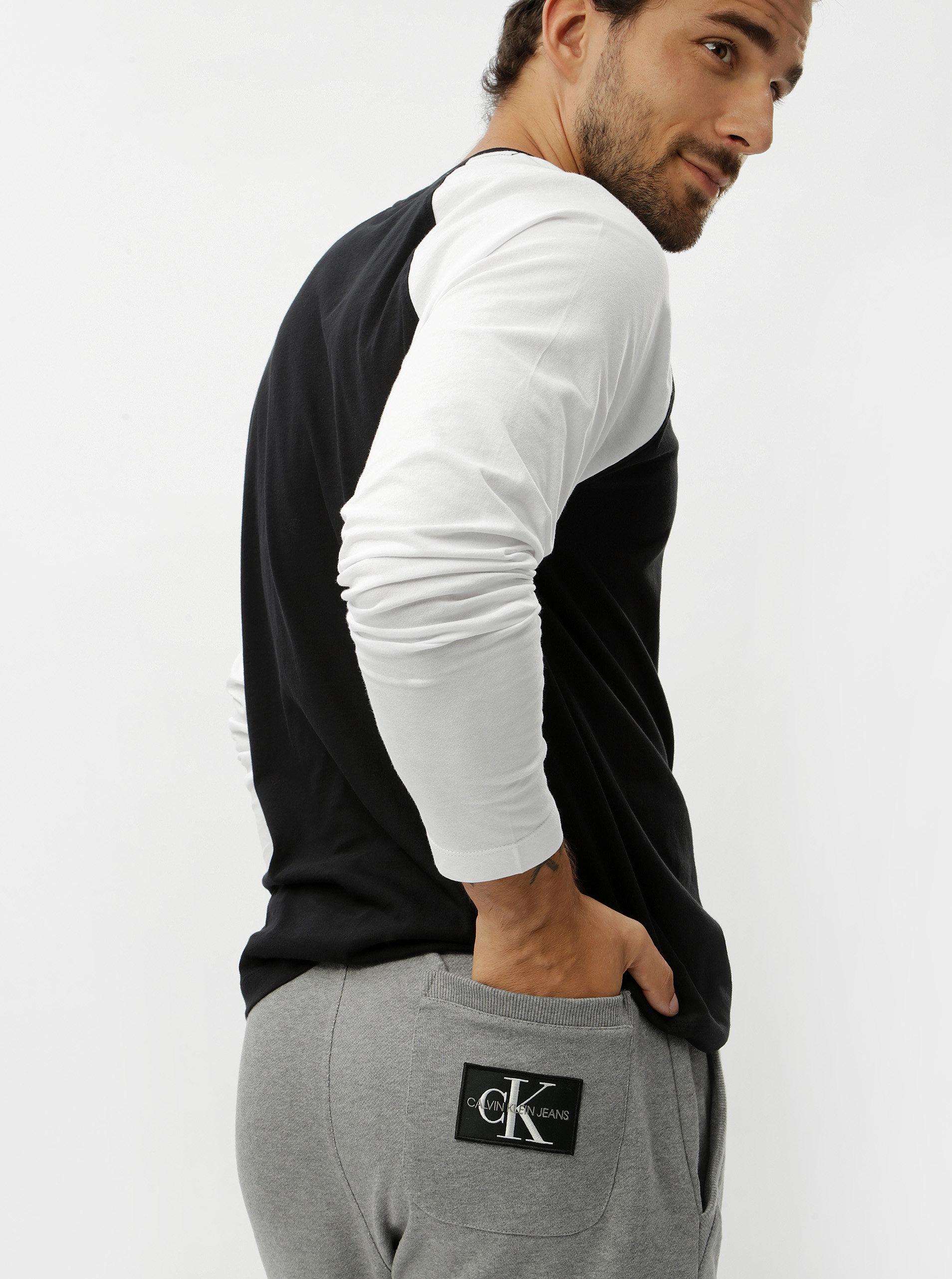 5bcf8e5764 Šedé pánské tepláky Calvin Klein Jeans ...