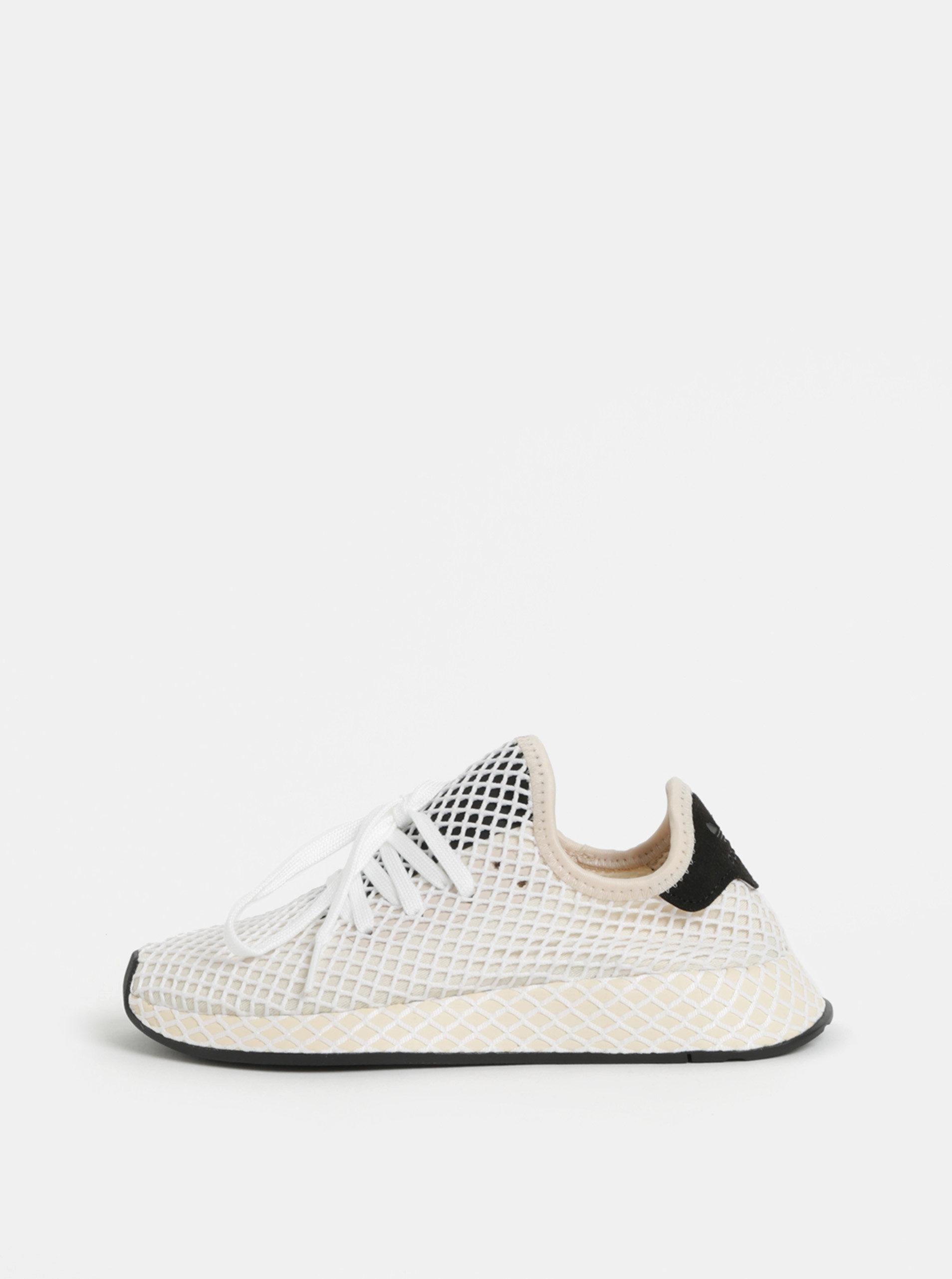 906eb93d535 Krémové dámské tenisky adidas Originals Deerupt Runner ...
