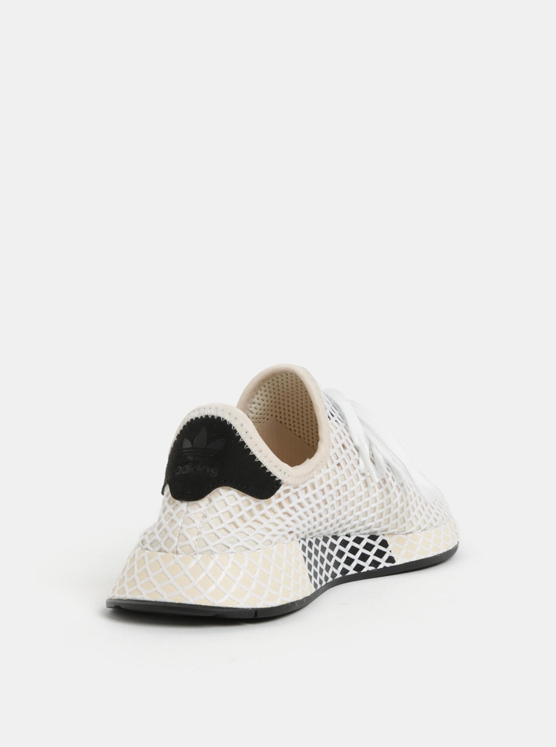 Krémové dámske tenisky adidas Originals Deerupt Runner ... ba9eda0f5cb