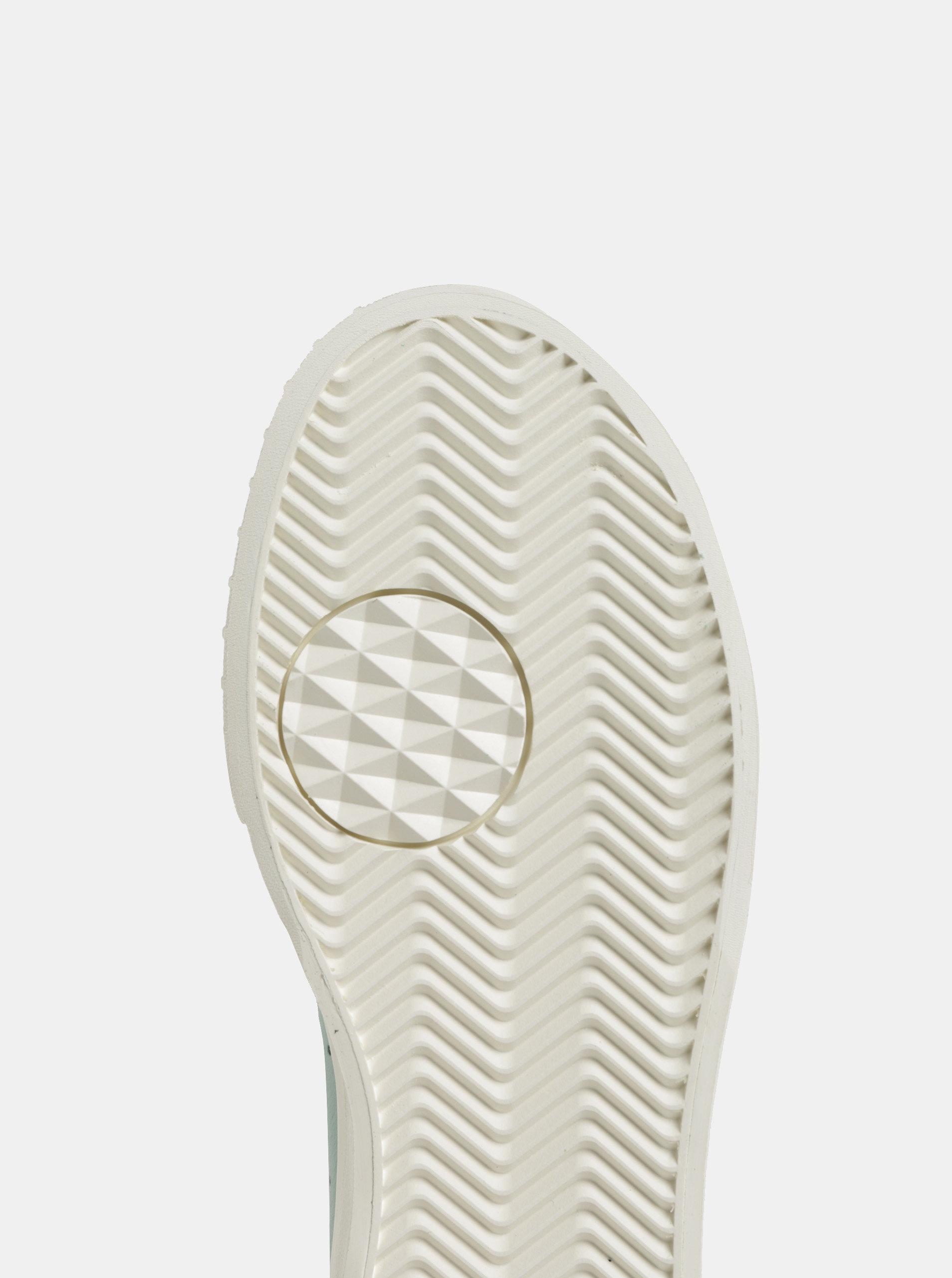Mentolové dámske kožené tenisky adidas Originals Everyn ... 04602b5bcff