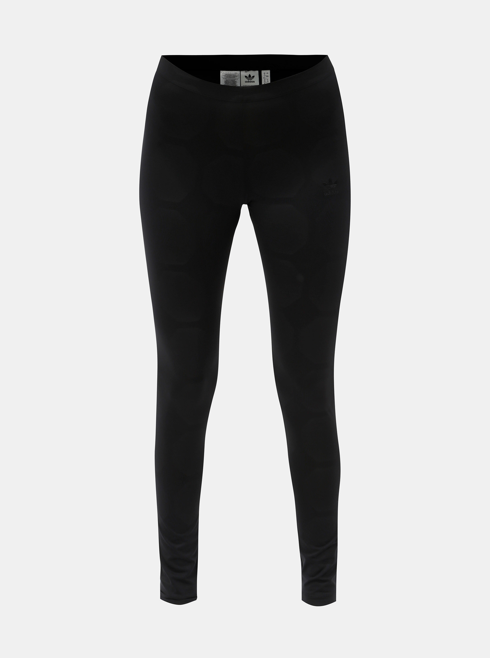 Černé dámské legíny s fotbalovým vzorem adidas Originals Tight ... b77f072443