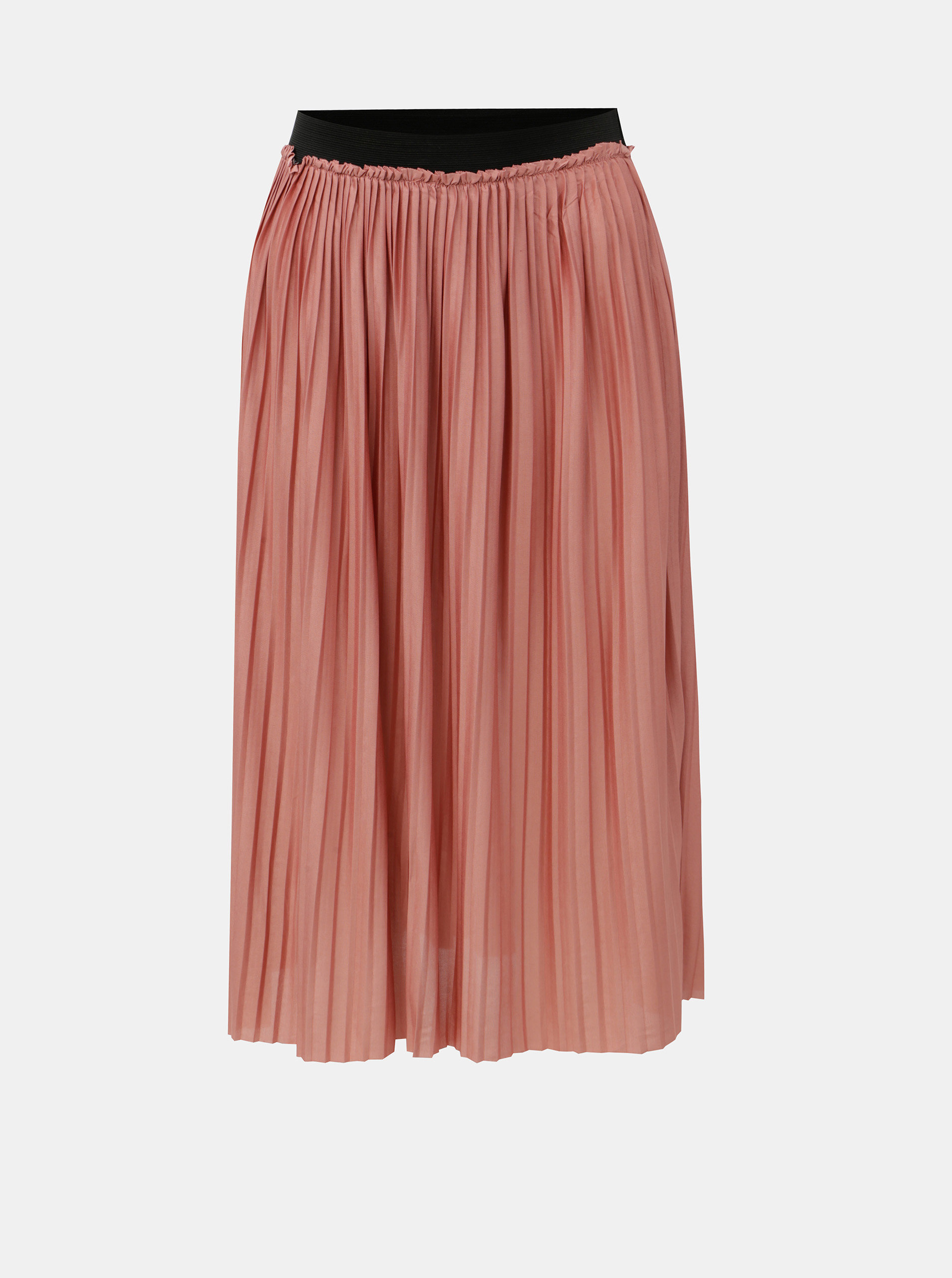 Růžová plisovaná sukně Jacqueline de Yong Asymic