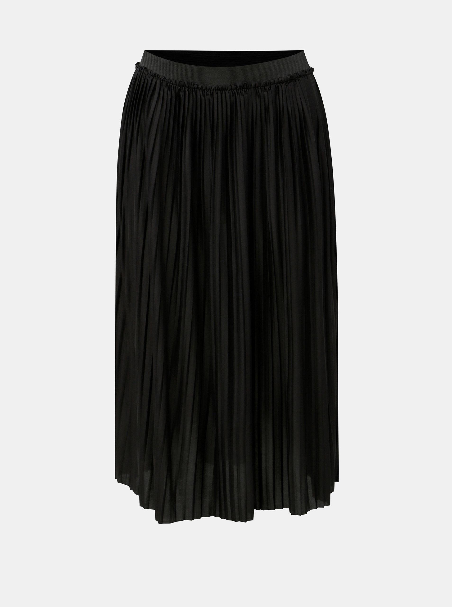 d805096c8257 Černá plisovaná sukně Jacqueline de Yong Asymic ...