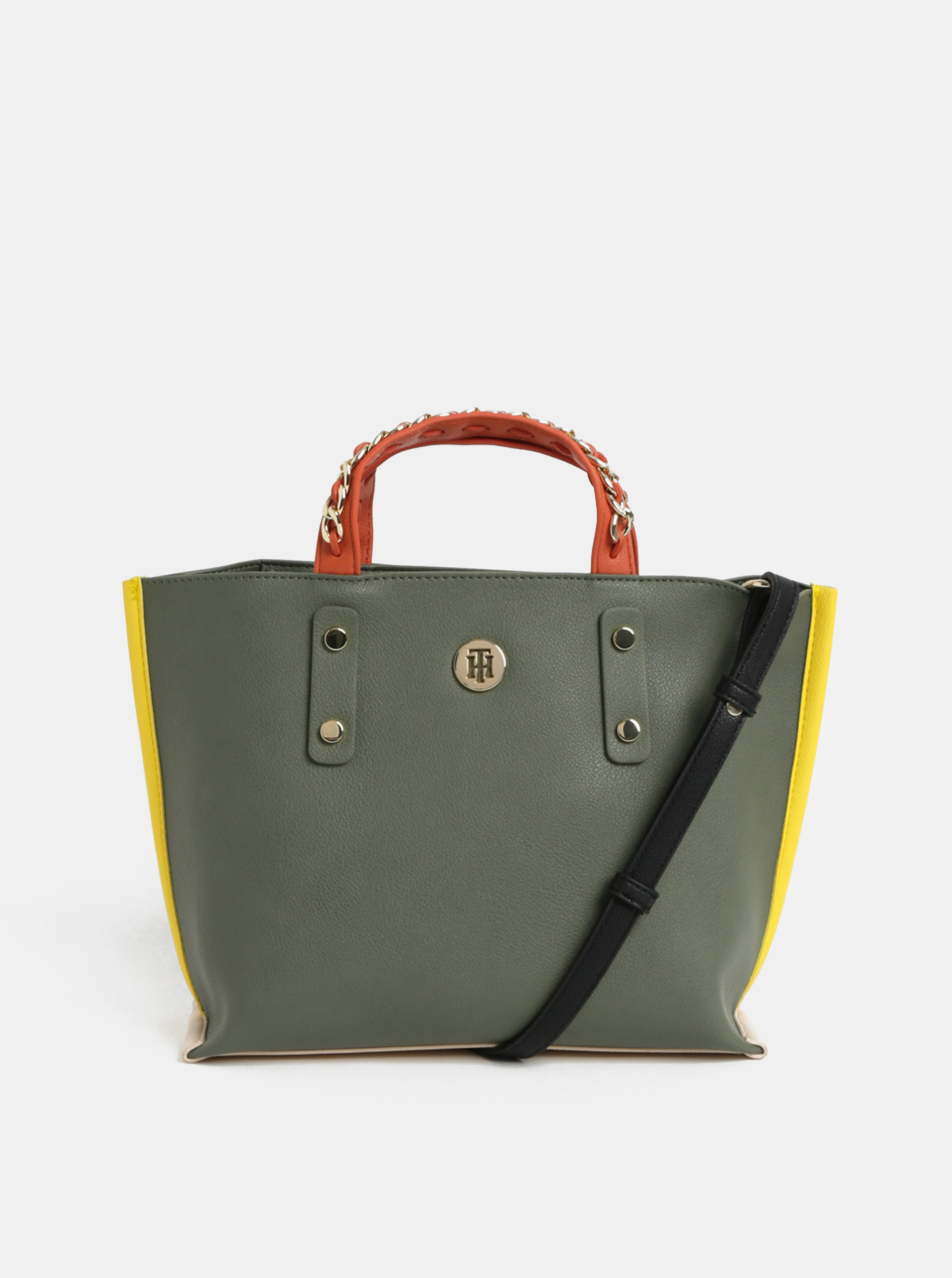 Zelená malá kabelka Tommy Hilfiger ... 2b90397f6ae