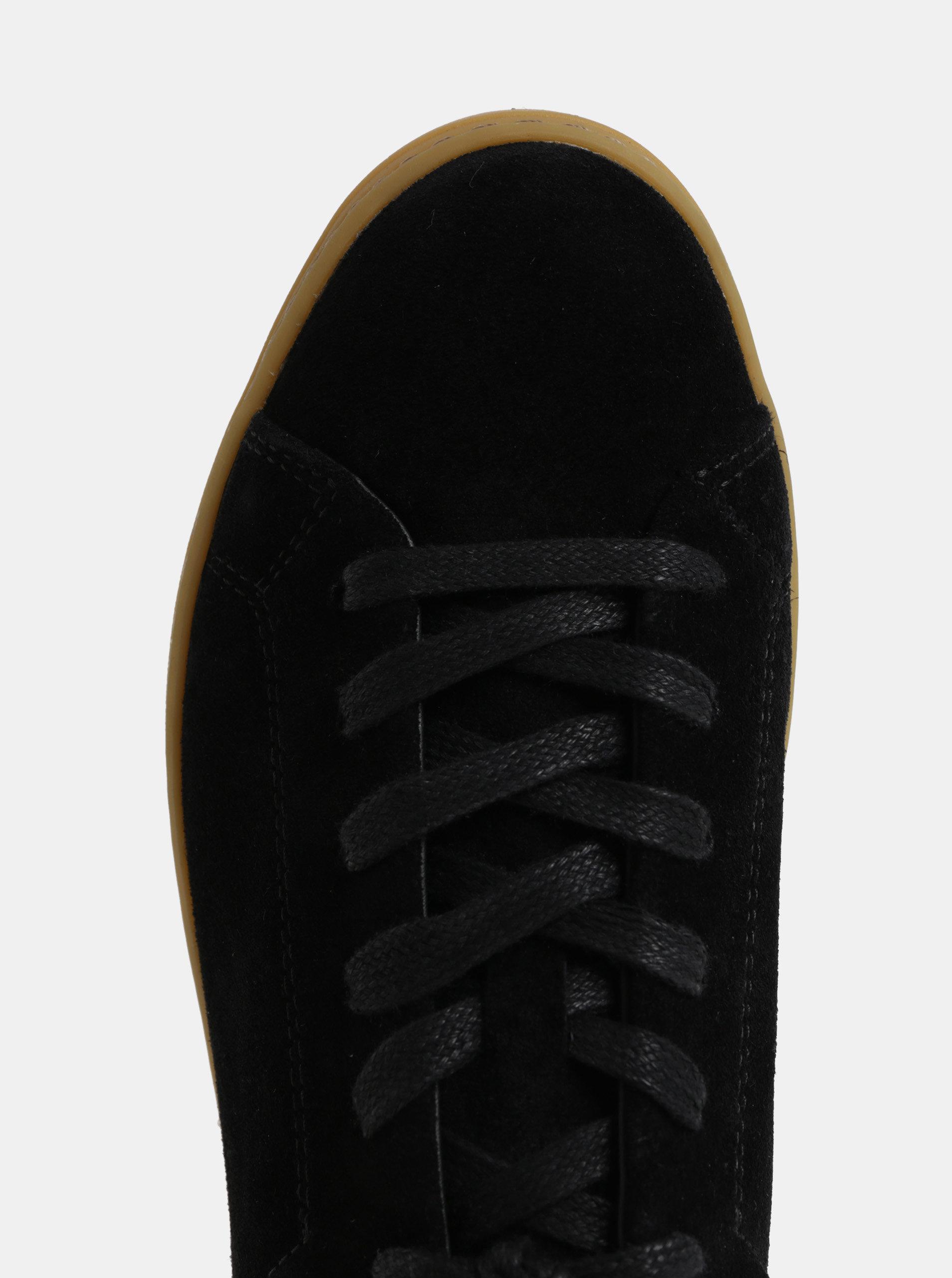 1d245106e8f6 Čierne dámske semišové tenisky na platforme Vagabond Jessie ...