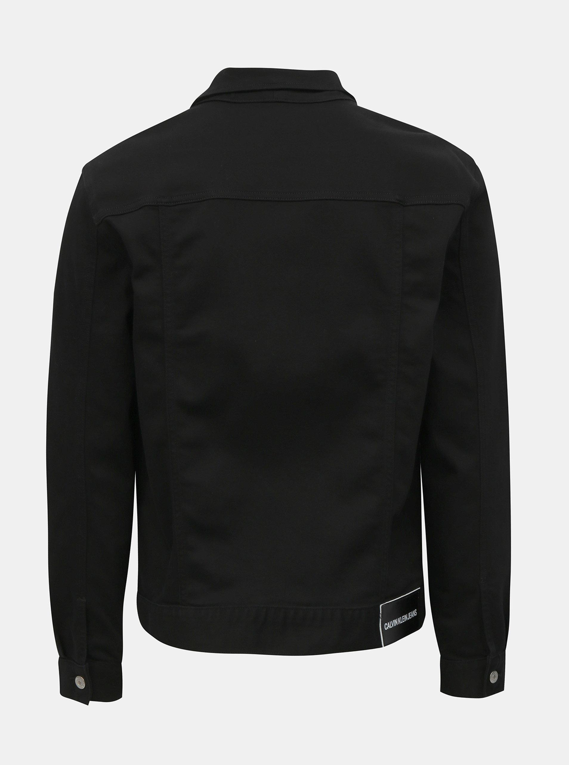0473f50f1f Černá pánská džínová bunda Calvin Klein Jeans ...