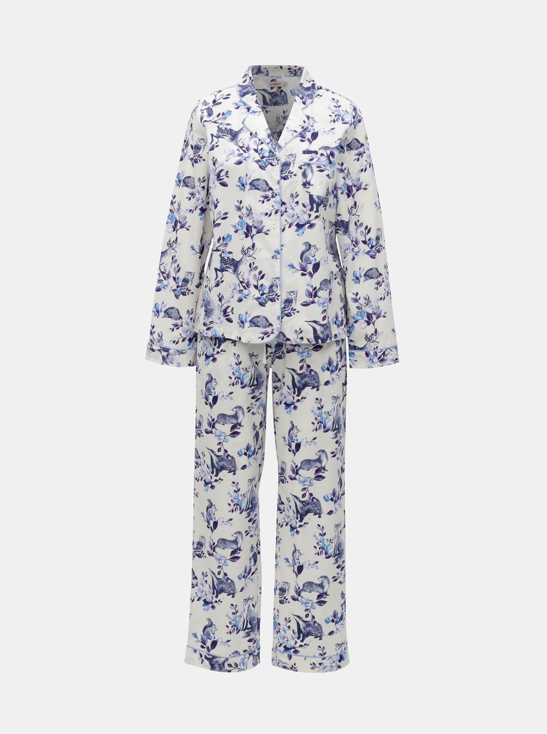 961fce386 Modro-biele dámske vzorované dvojdielne pyžamo Cath Kidston | ZOOT.sk