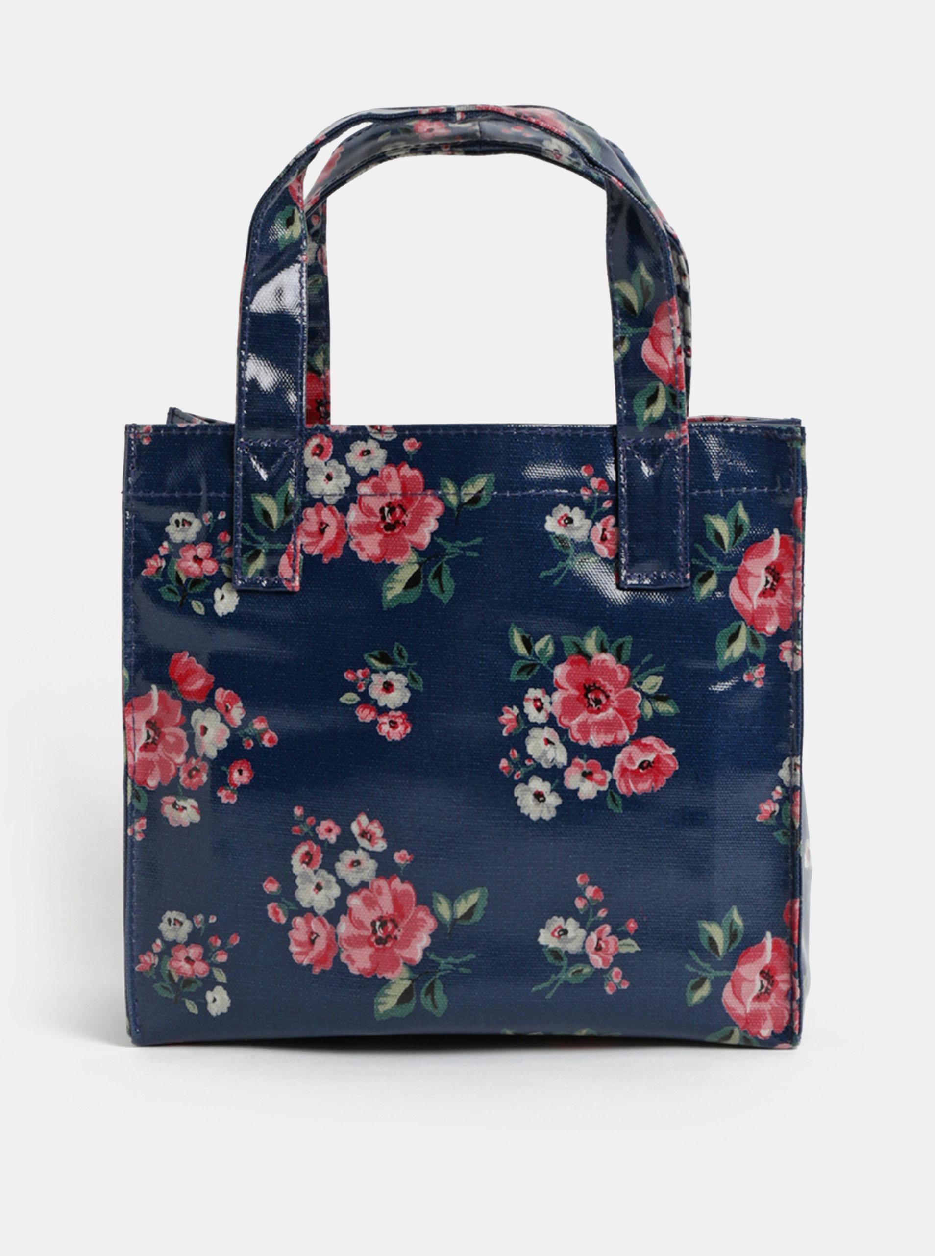 a9653909e0 Tmavomodrá dievčenská kvetovaná kabelka Cath Kidston ...