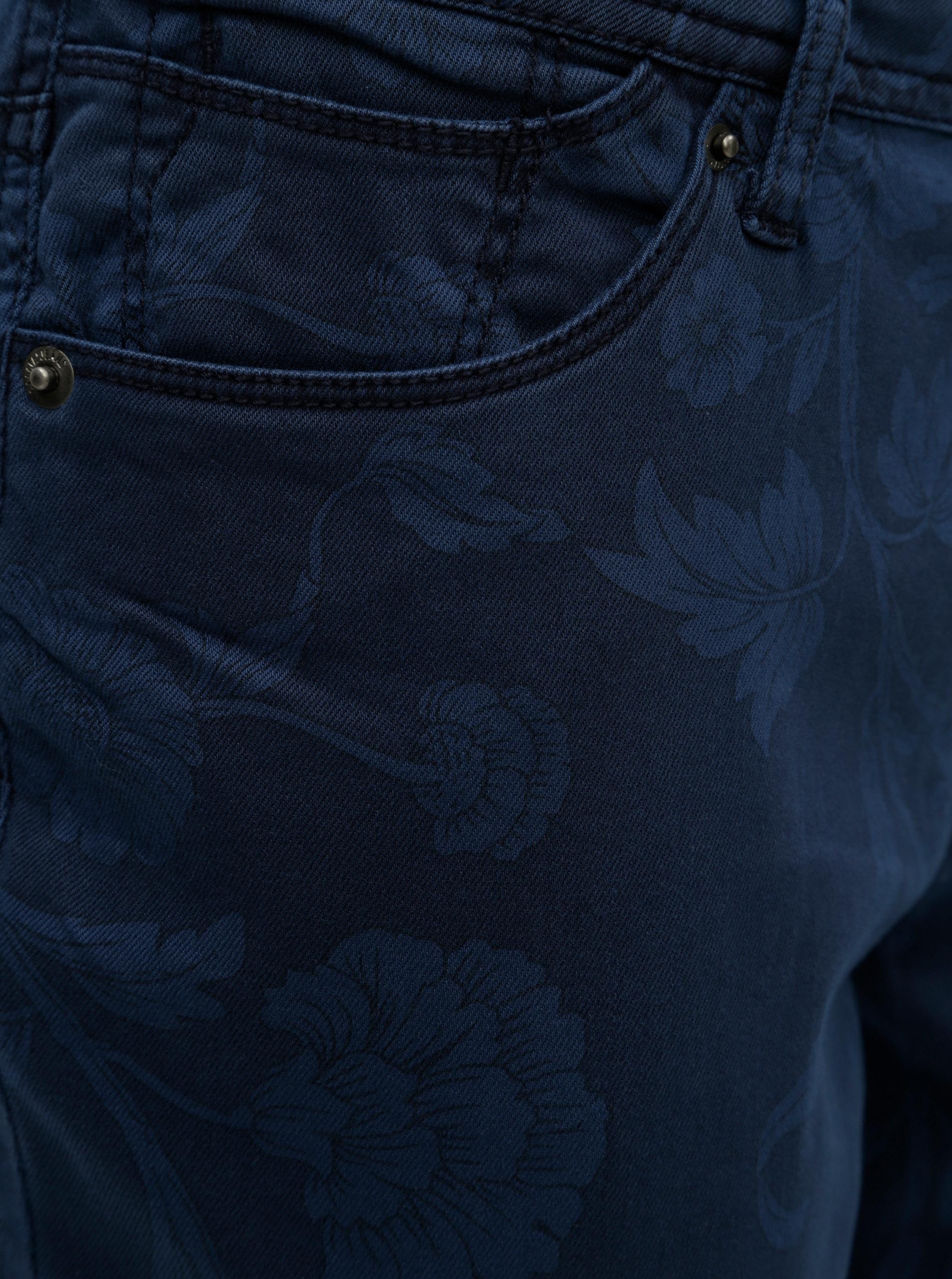 Tmavě modré dámské slim fit džíny Garcia Jeans