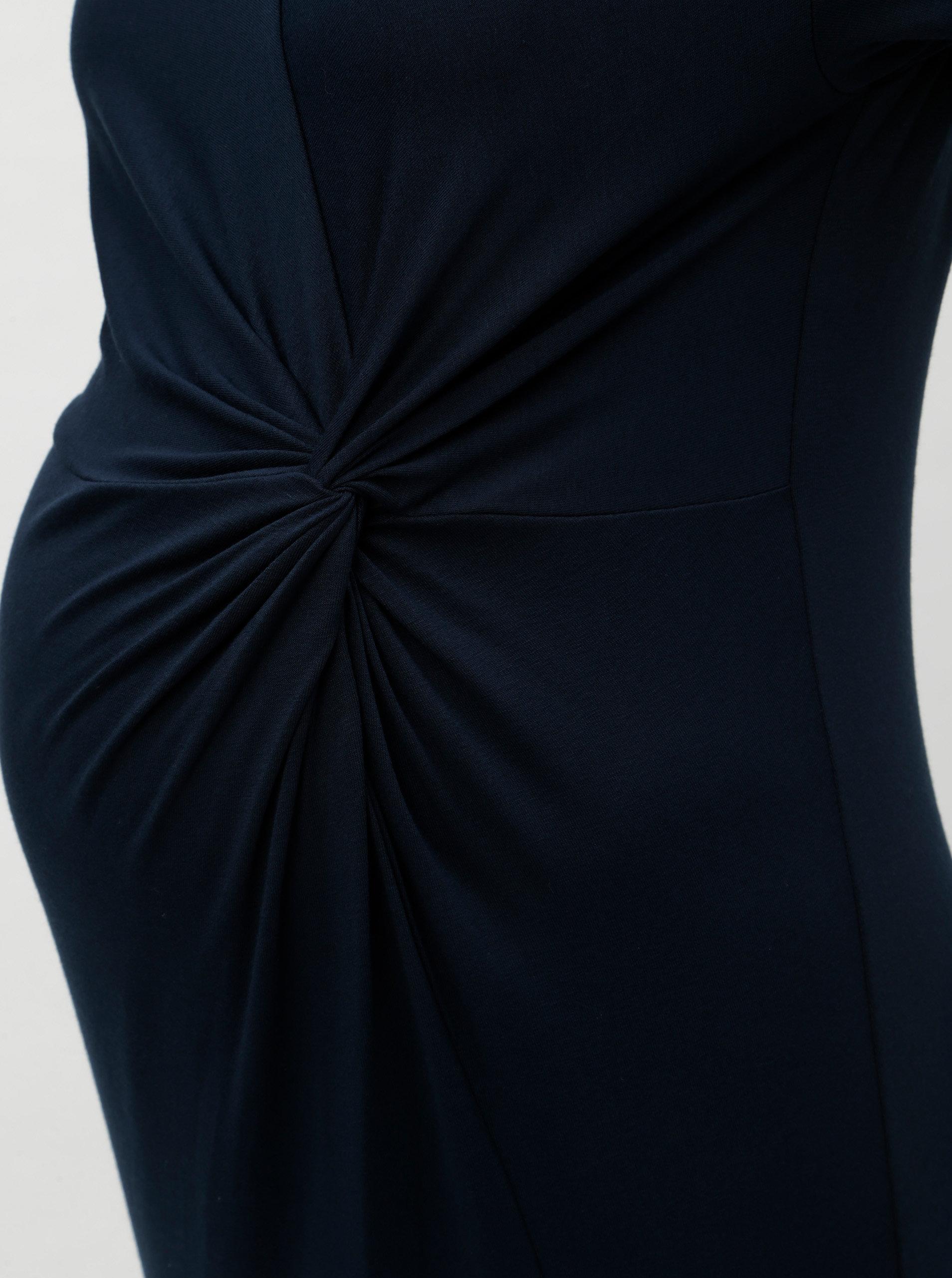 ec76761724e4 Tmavomodré tehotenské šaty Dorothy Perkins Maternity ...