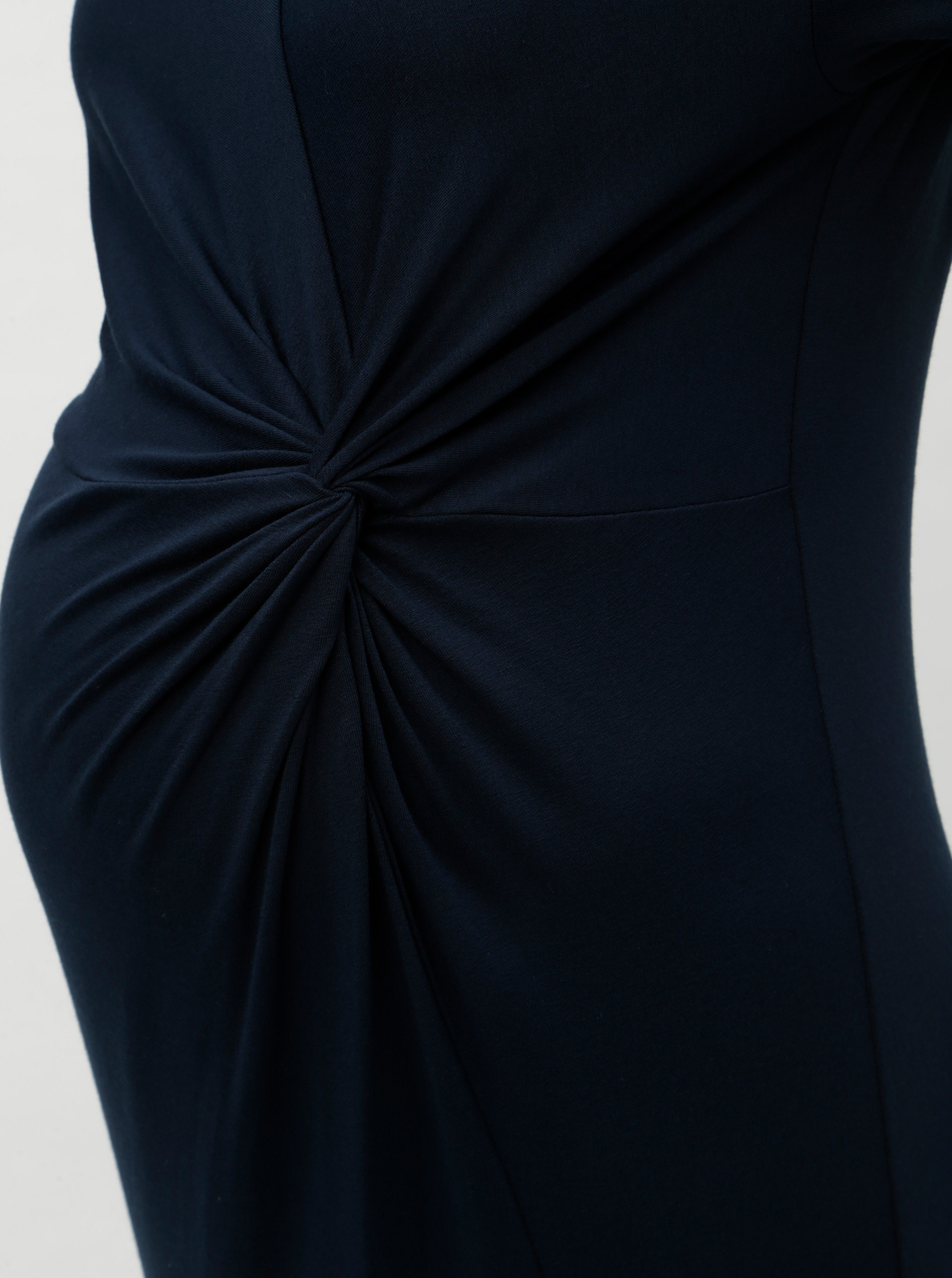 a8fadf34e4de Tmavomodré tehotenské šaty Dorothy Perkins Maternity ...