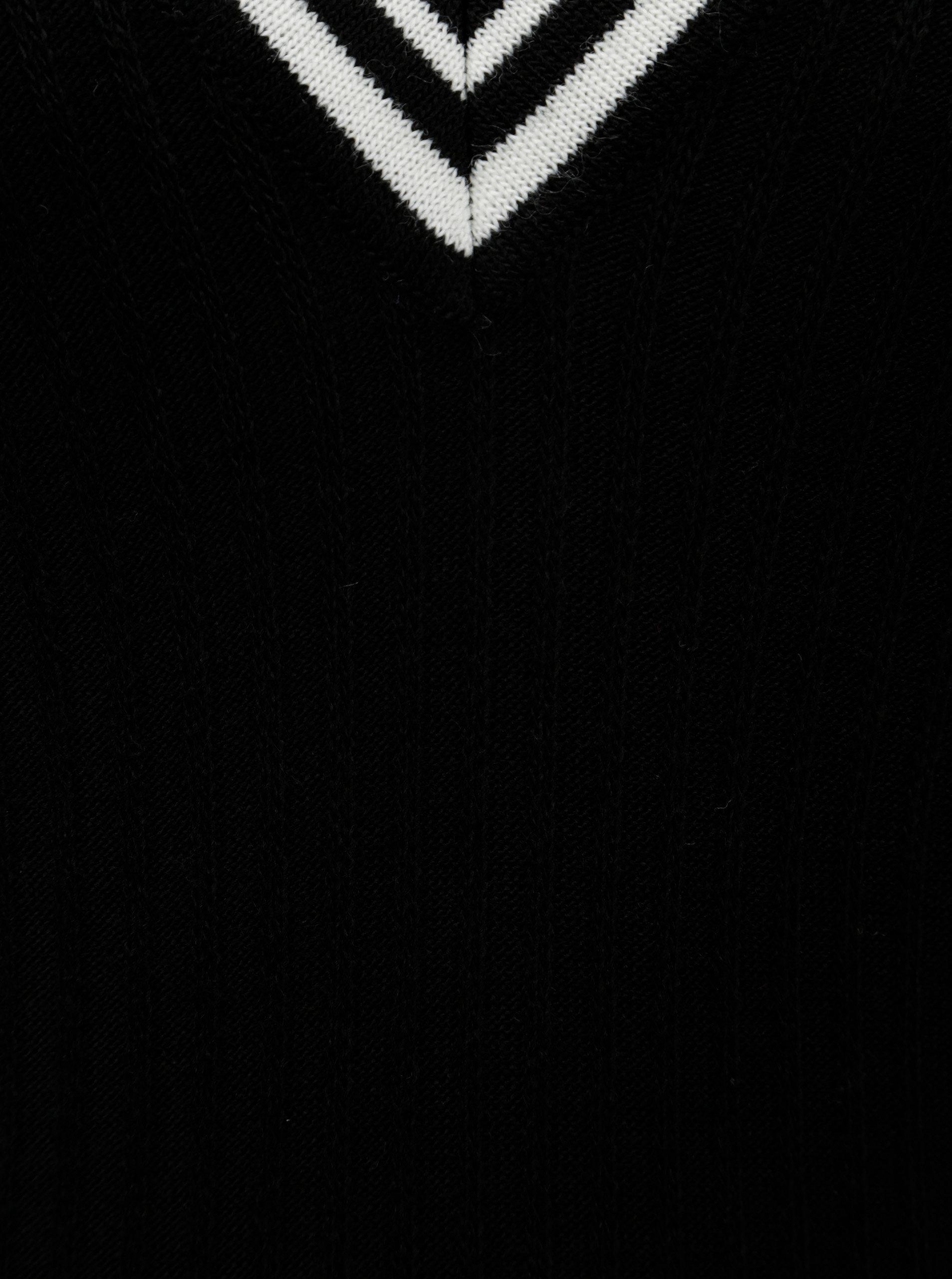 Čierne svetrové šaty Dorothy Perkins ... eaeeaae68ee