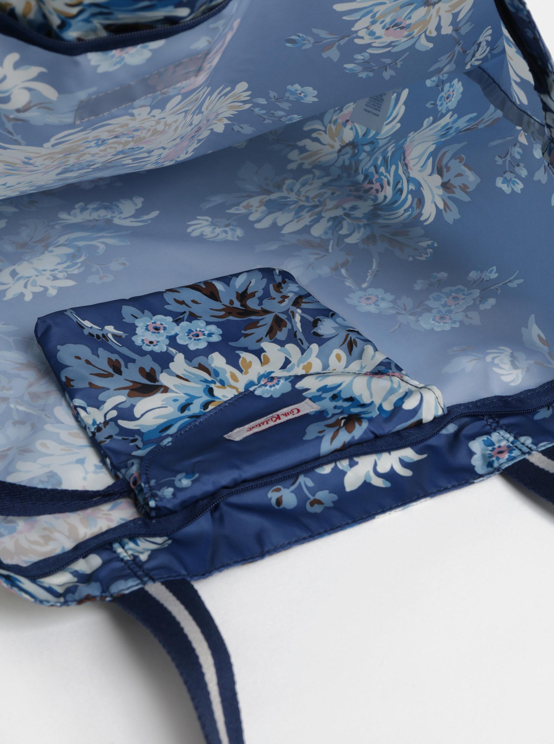 Modrá květovaná taška Cath Kidston